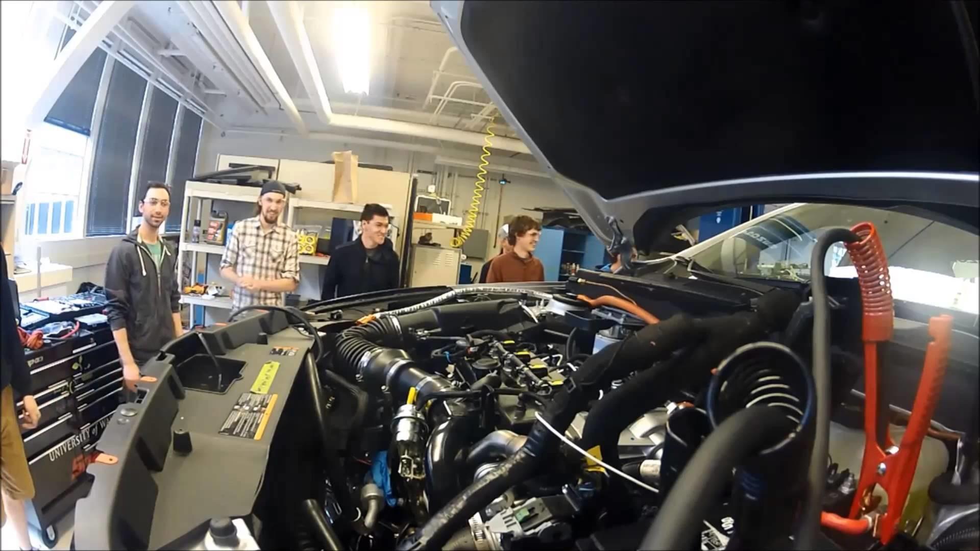 ecocar2, University of Washington, Ecocar, General Motors, Mechanical  Engineering