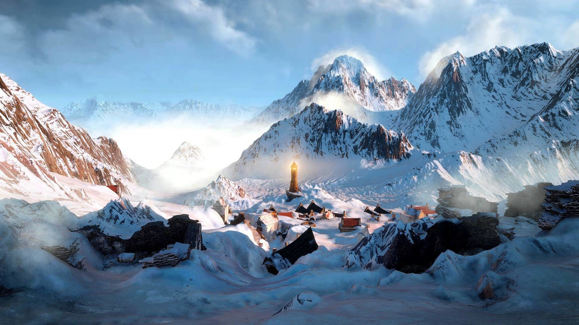 Animated Desktop Wallpaper of The Witcher 3 – Another World III – YouTube