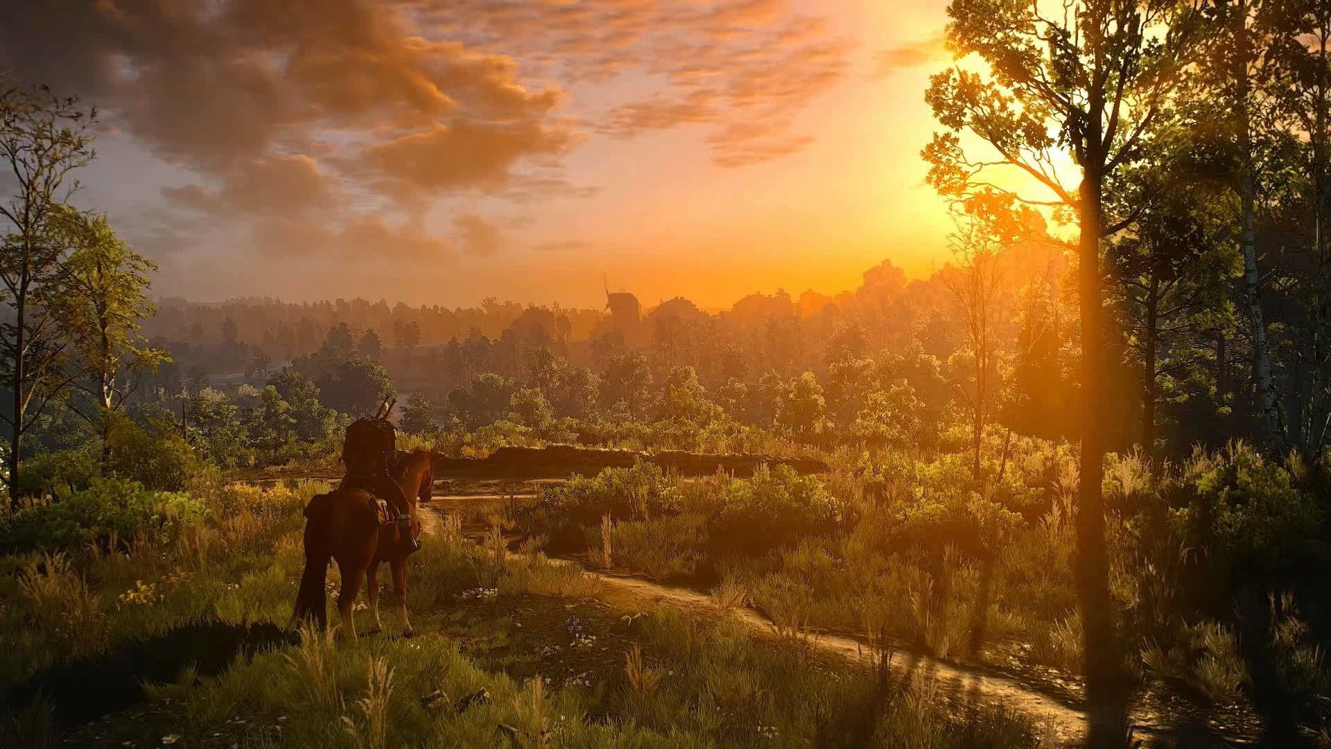 Animated Desktop Wallpaper of The Witcher 3 – White Orchard I: Where my  long journey began