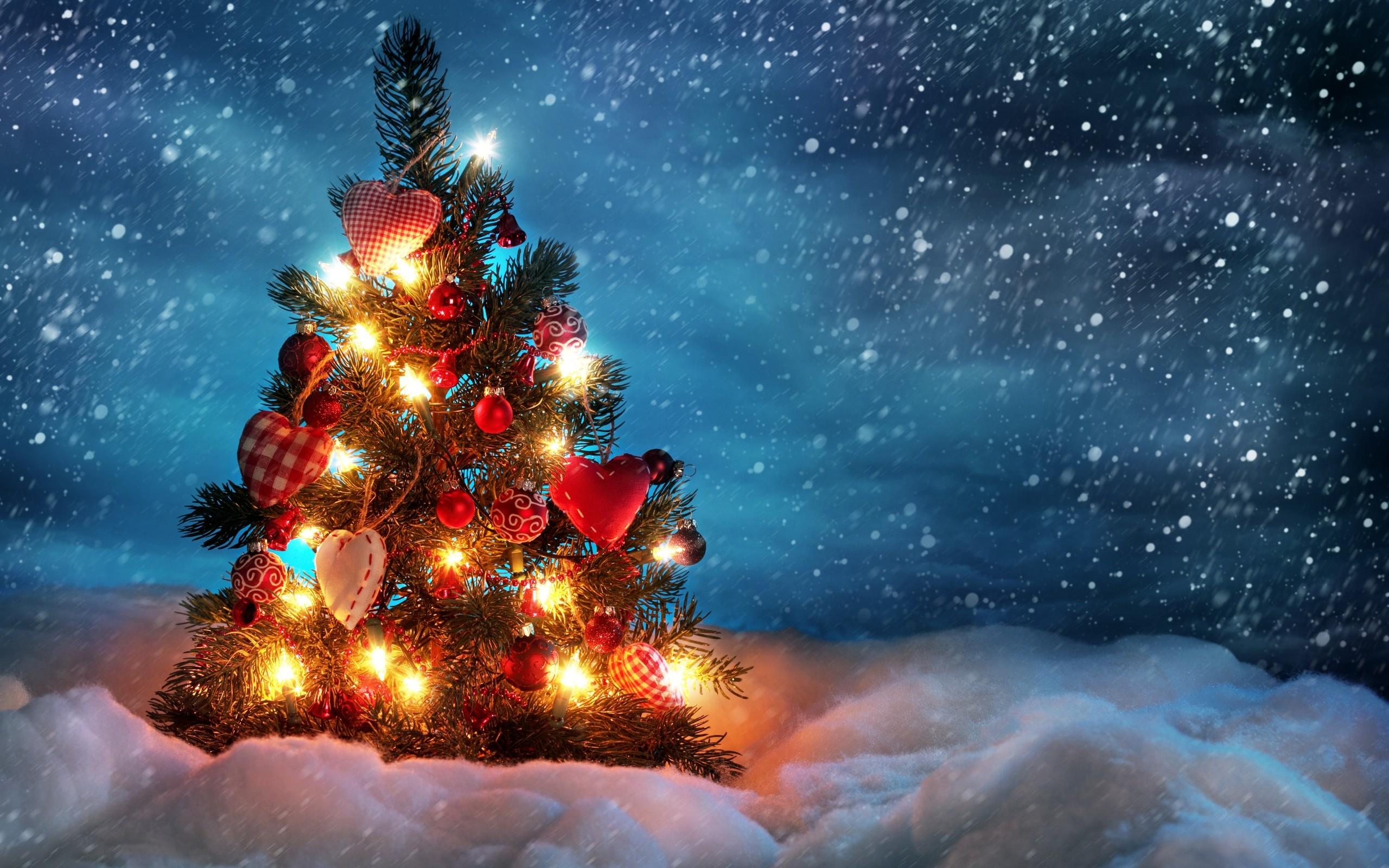 1061) Christmas Tree Animated Desktop Background Wallpaper .