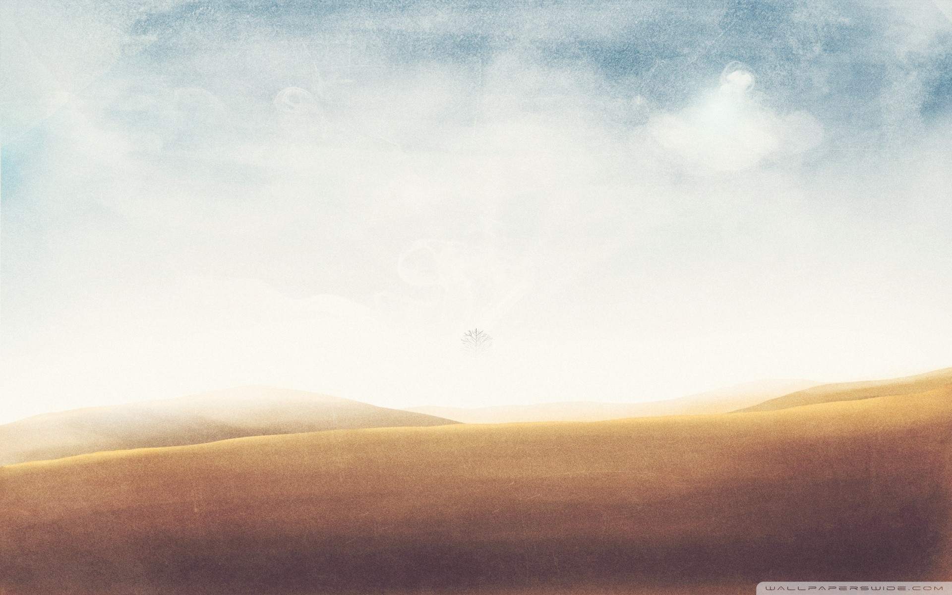 Desert Vintage Cool Twitter Backgrounds