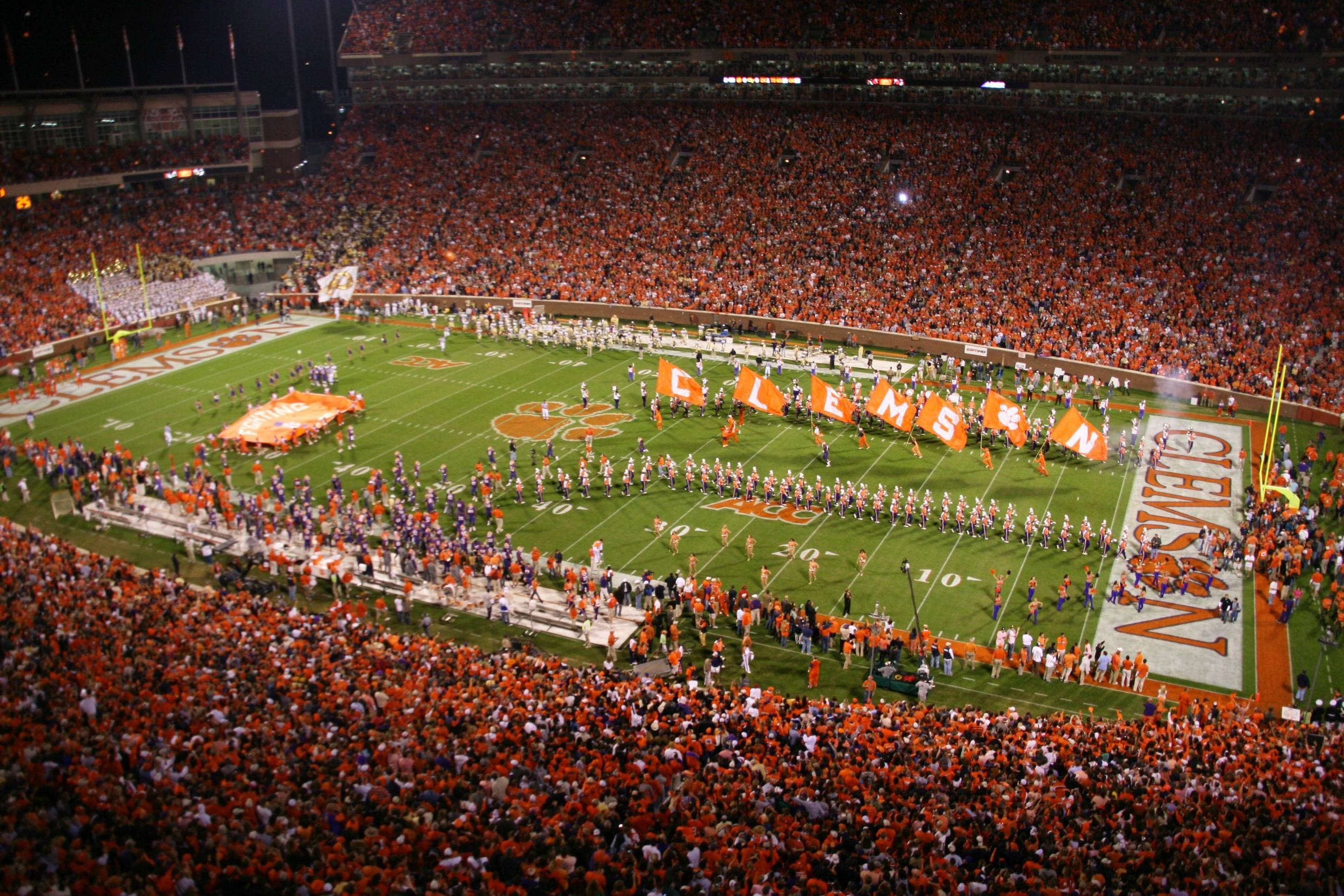 … 15 reasons to be thankful for being a clemson fan …