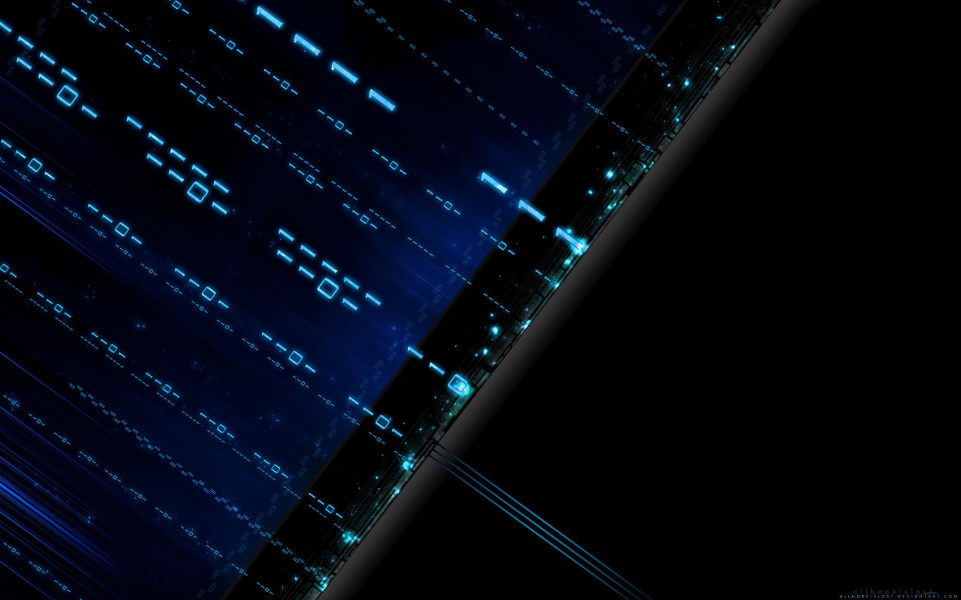 Technology – Binary Technology Wallpaper