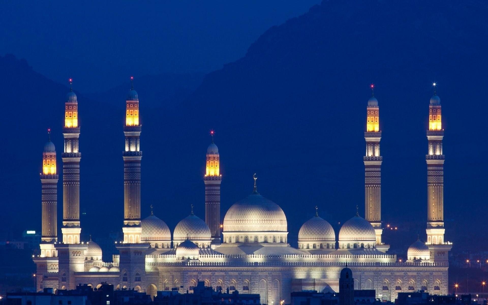 Religious – Saleh Mosque Yemen Sana'a Building Mosque Wallpaper