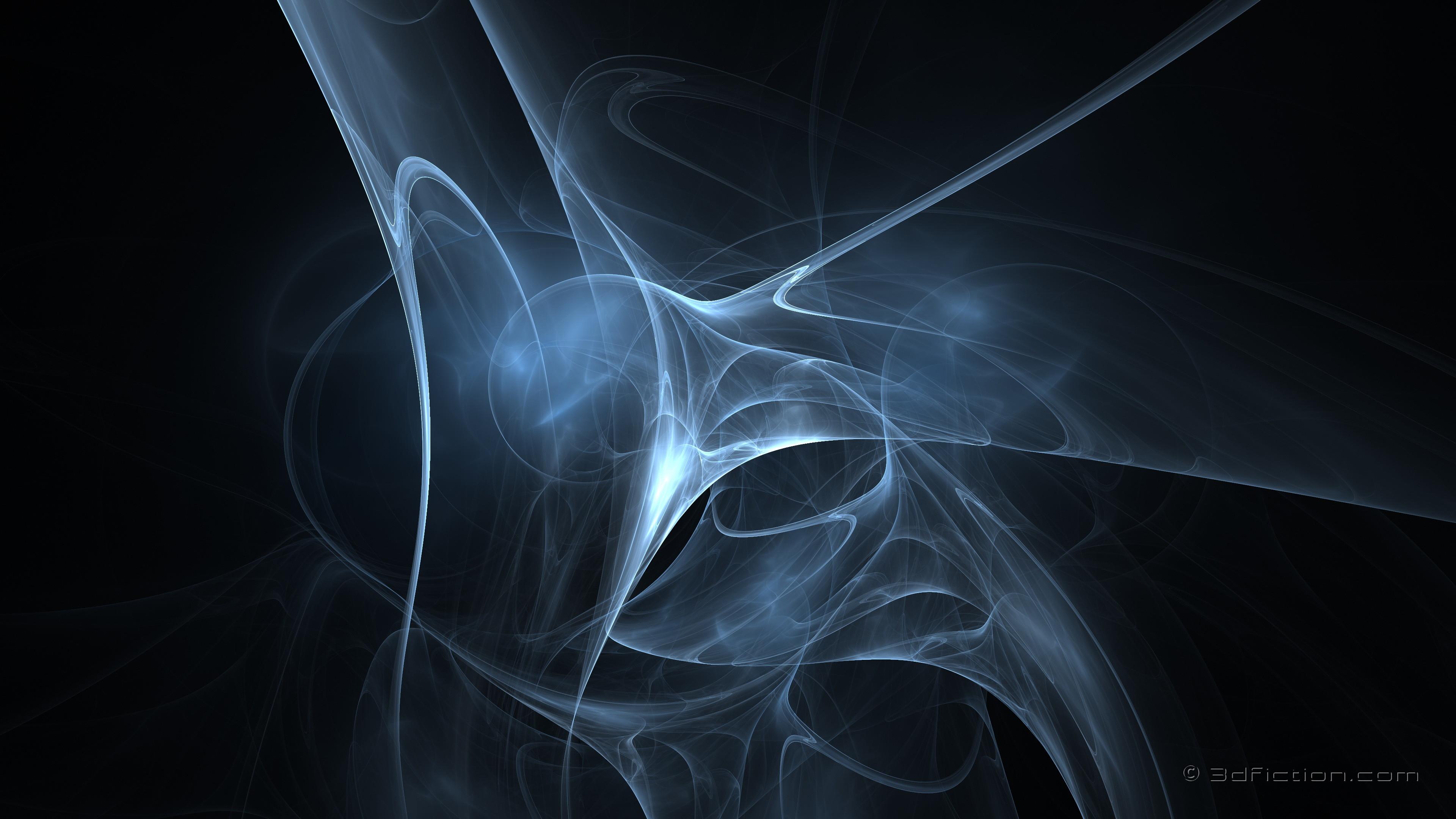 Abstract – Fractal 3D Wallpaper