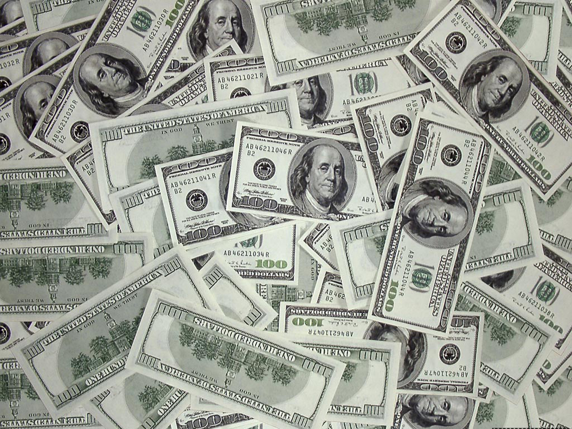 100 Dollar Bill Wallpaper 1920×1440.