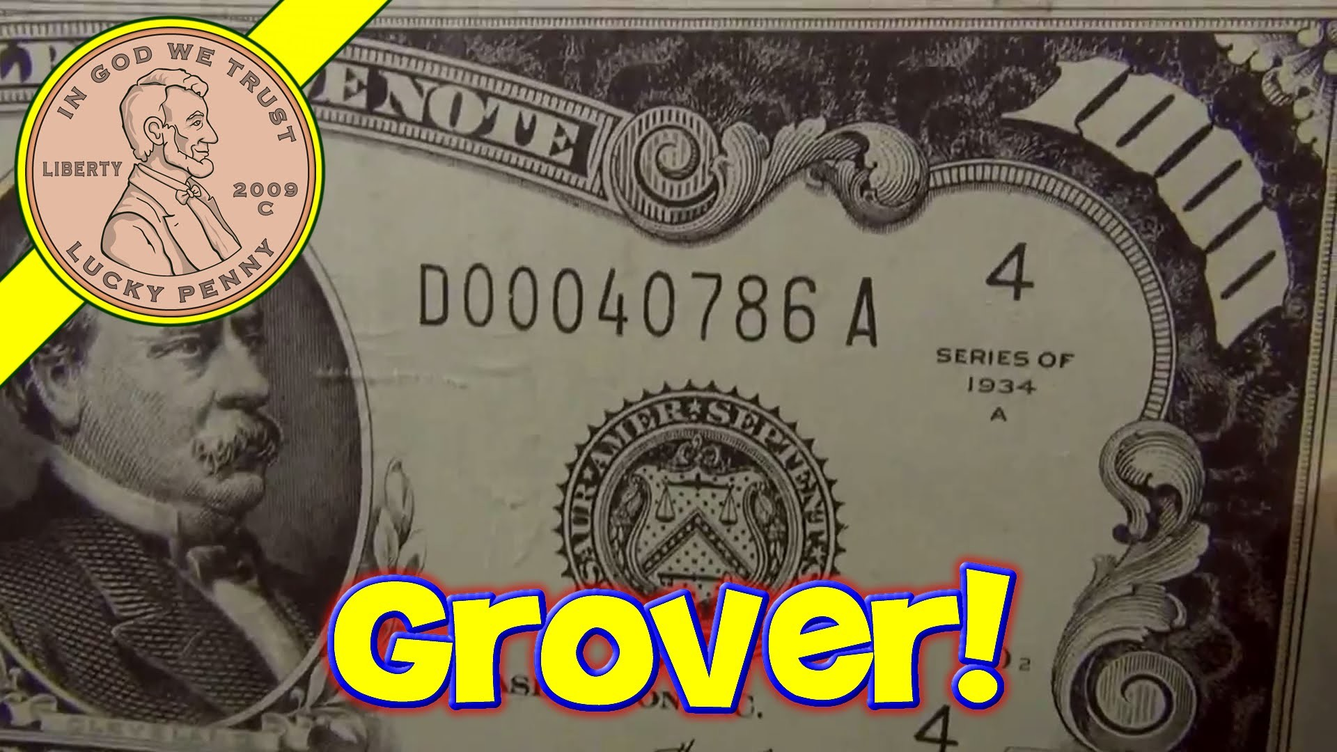 $1000 Dollar Bills Grover Cleveland Ruled Money Memo Desk Note Pads, Planet  Greetings – YouTube