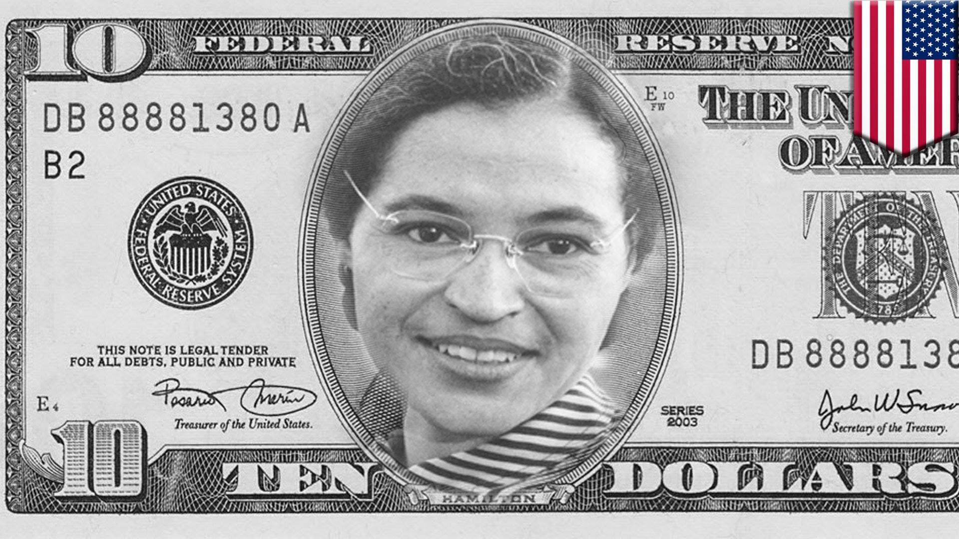 Woman on ten dollar bill: Rosa Parks, Margaret Thatcher among GOP  candidates' ideas for new $10 bill