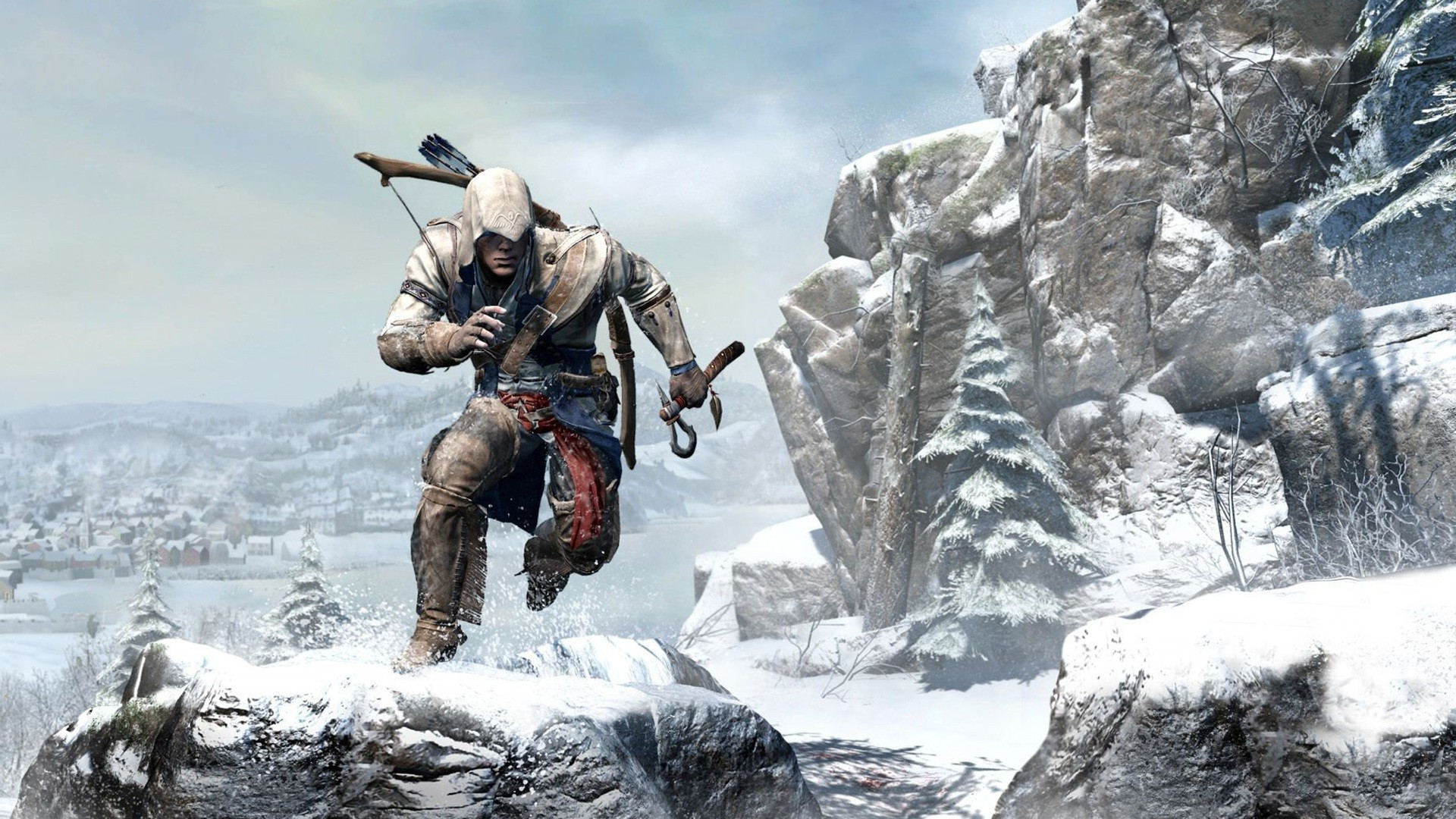 Assassins Creed III, Connor Kenway, American Revolution, Video Games  Wallpapers HD / Desktop and Mobile Backgrounds