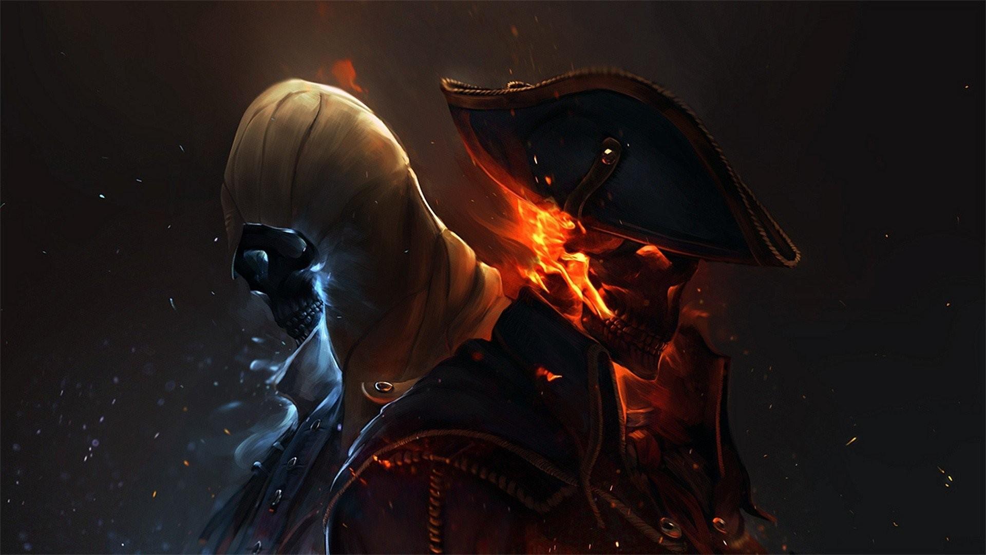 American Revolution Artwork Assassins Creed 3 Capes Connor Kenway Flames  Snow Ubisoft Uniforms War