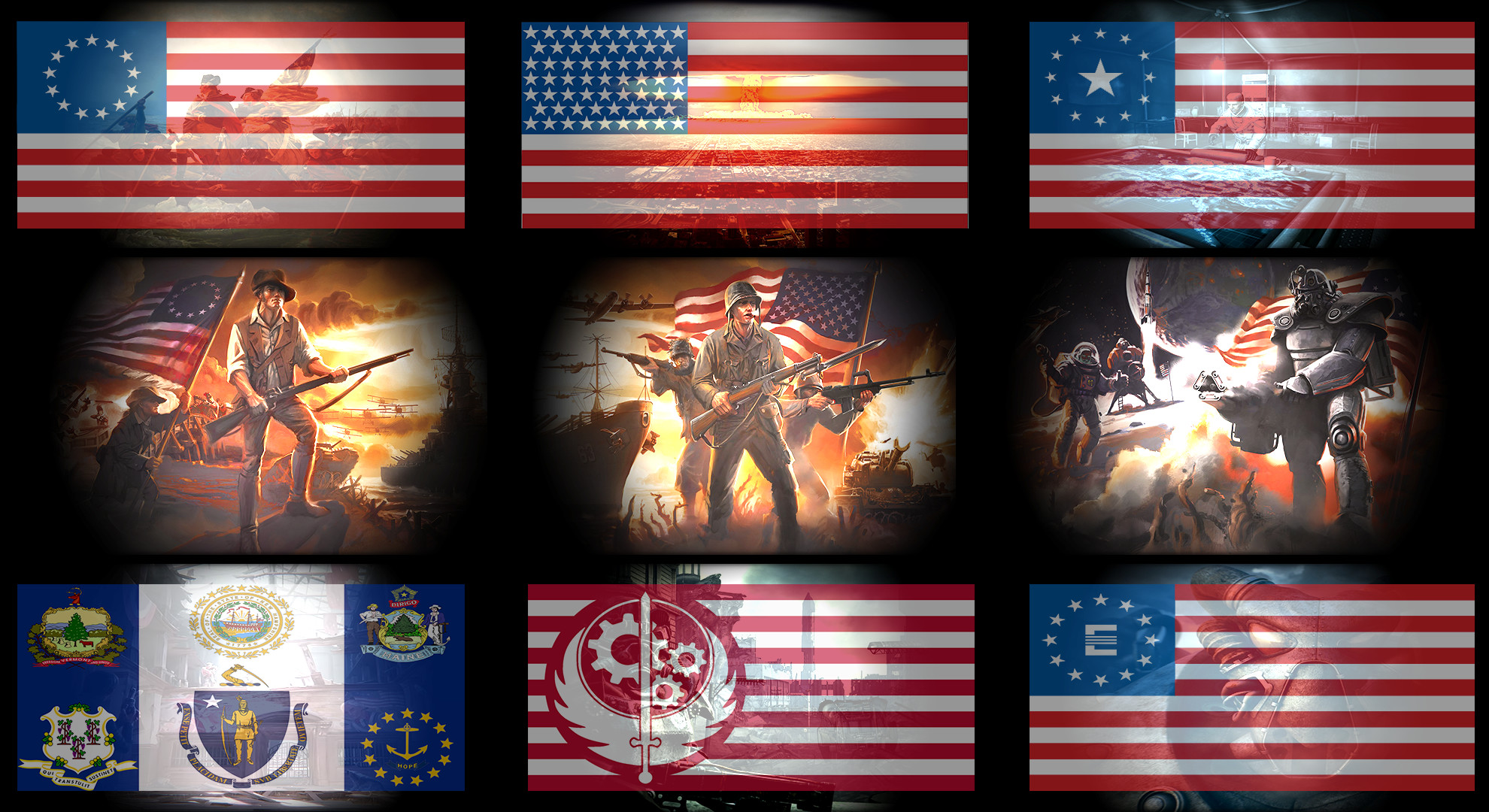 Fallout American Wallpaper