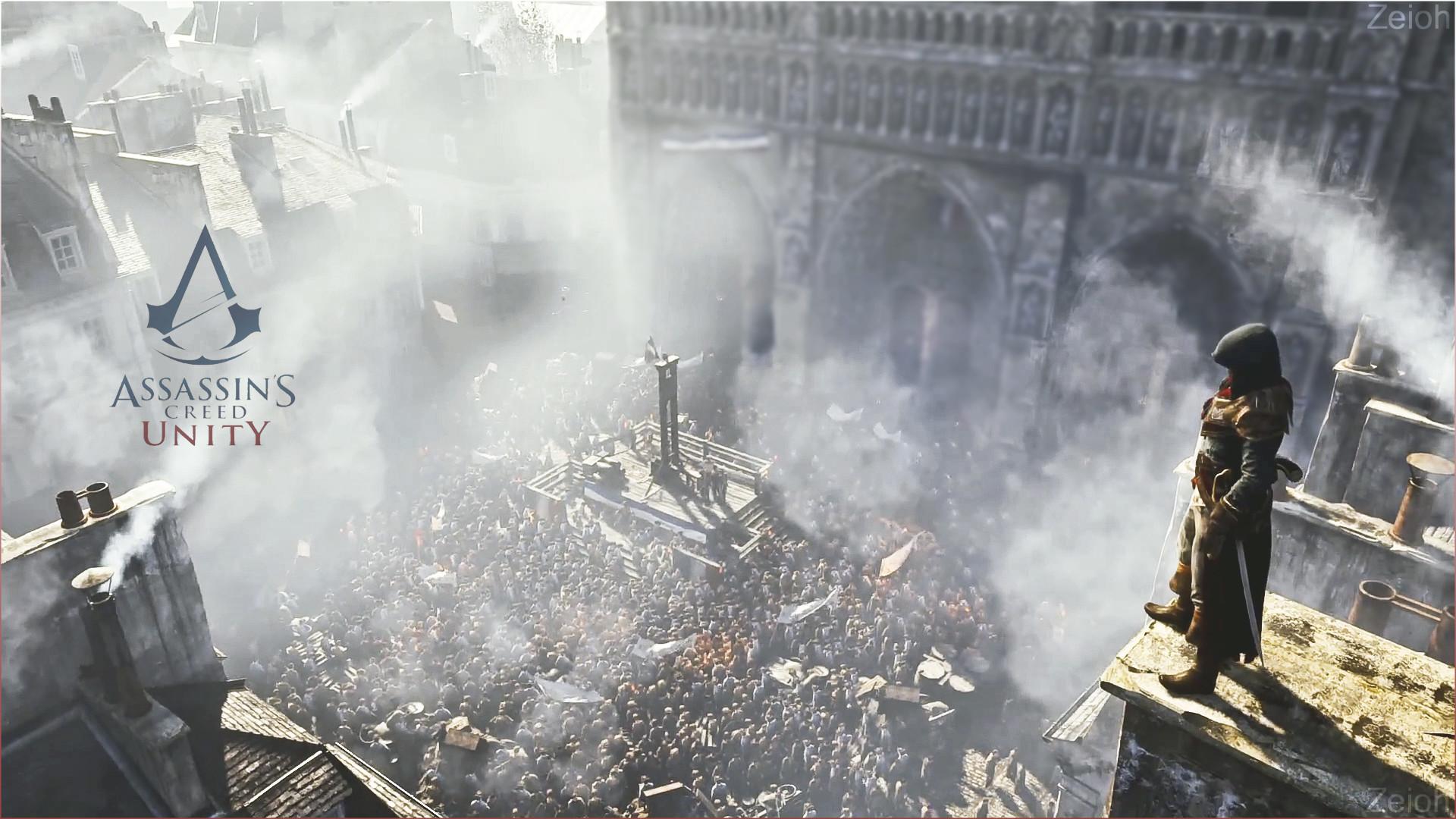 Assassin's Creed Unity – Wallpaper Arno Paris by Zeioh.deviantart.com on  @deviantART