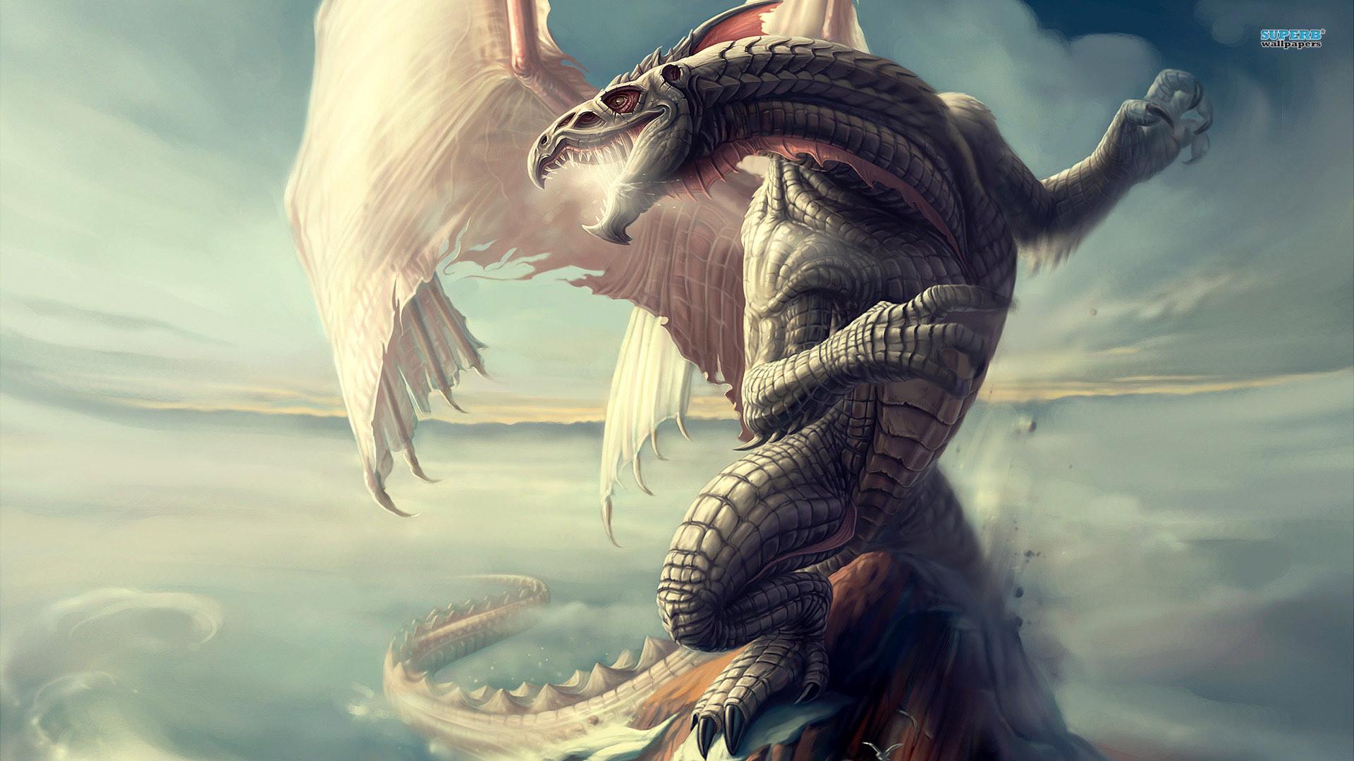 Download Wallpaper Girl, Dragon, Back, Tattoo Full HD 1920×1080 Dragon HD