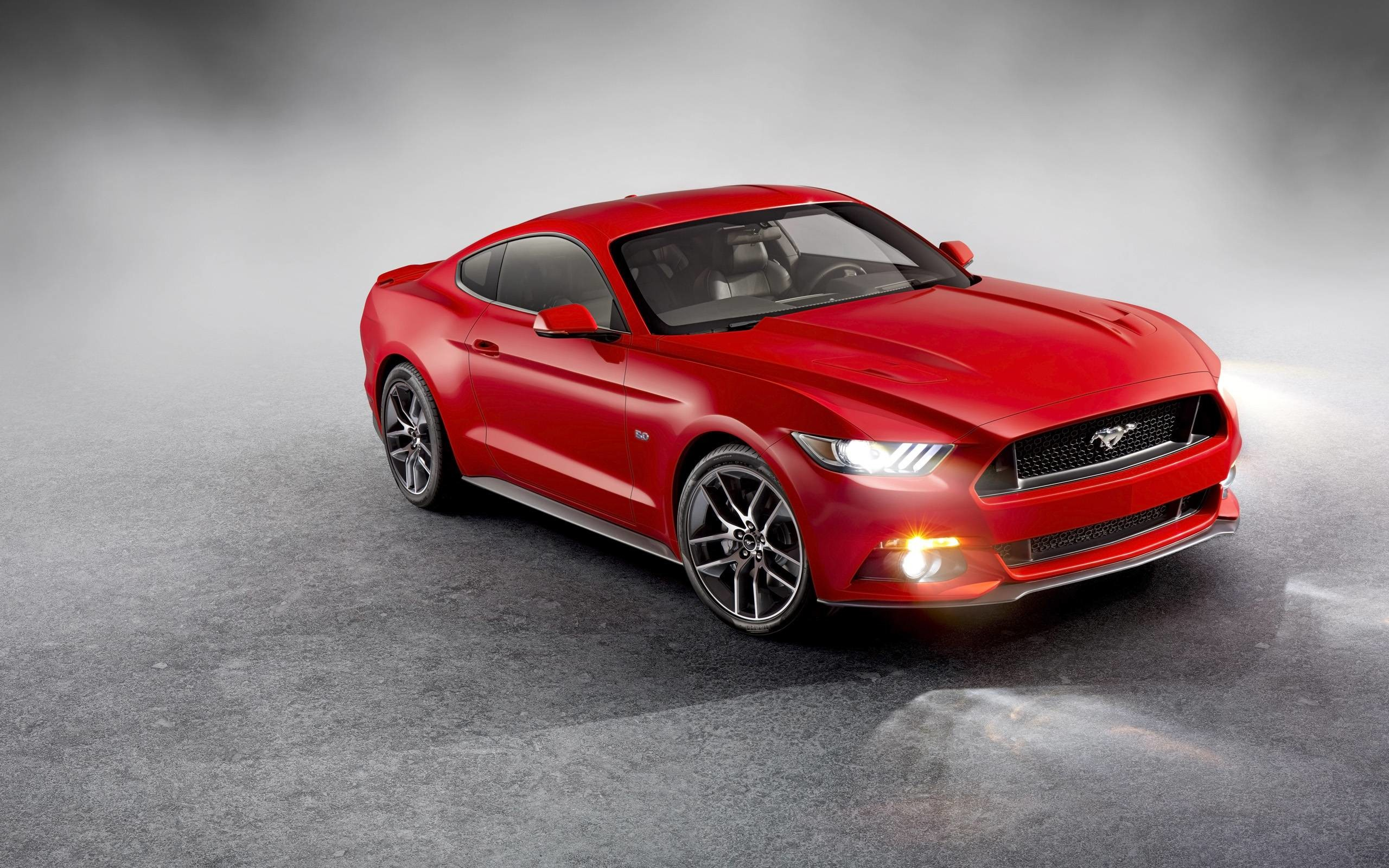 2015 Ford Mustang Front Wide Car Wallpapers HD Epic Wallpaper HD