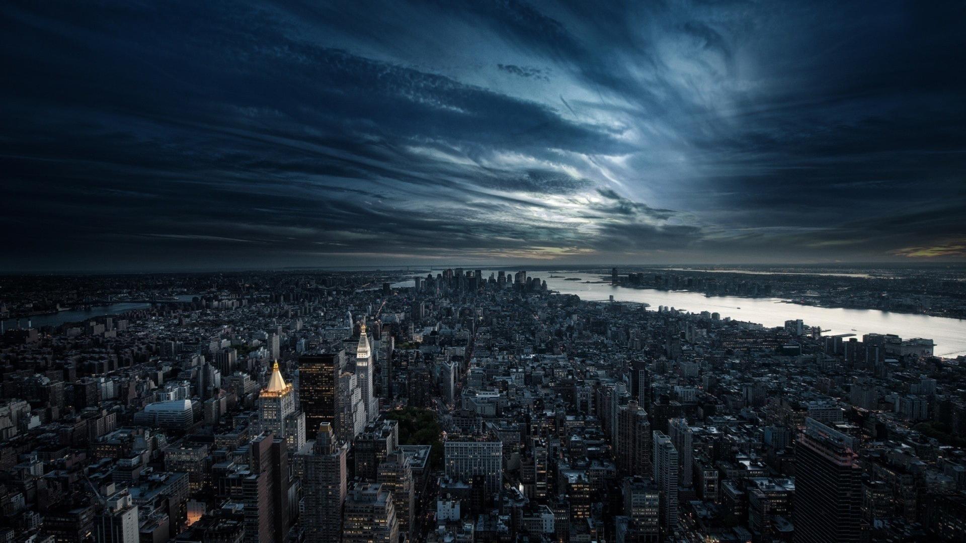 New York Epic Landscape : Desktop and mobile wallpaper : Wallippo