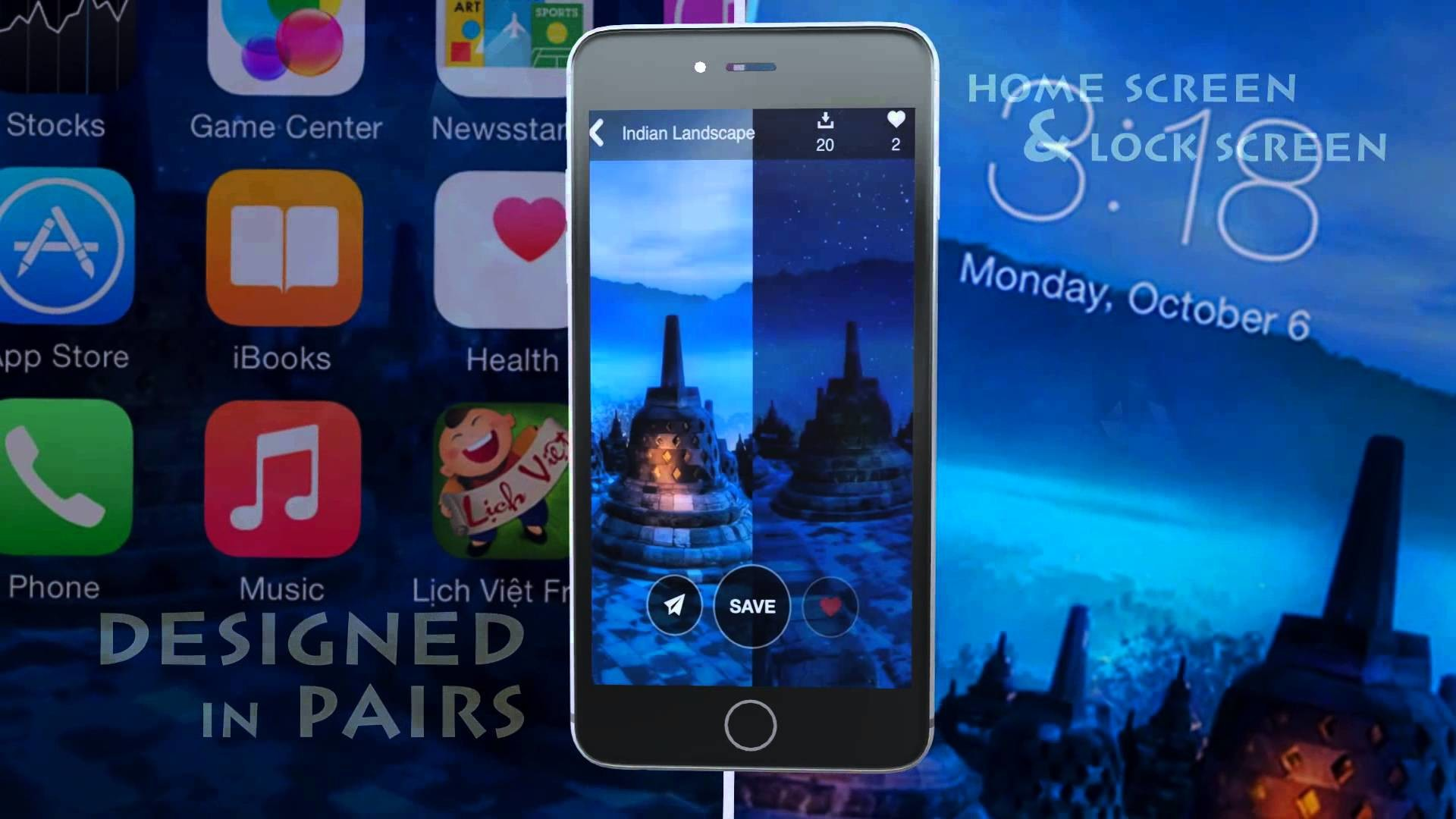 Wallpaper – Cool Home & Lock Screen for iPhone & iPad of PPCLINK Software –  YouTube