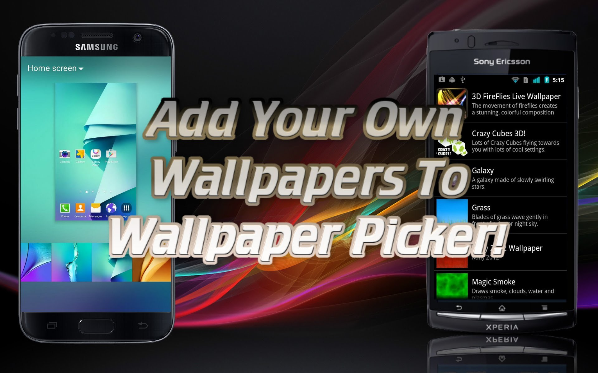 How To Add Your OWN Wallpapers To Your Phone's Wallpaper Picker! – Month Of  Mobile – Episode 2 – YouTube