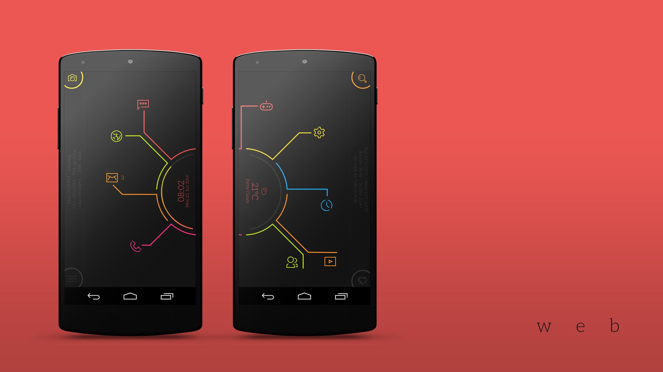 Web Android Homescreen by garyarts – MyColorscreen
