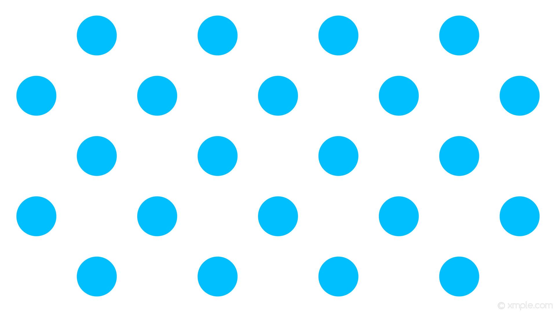 wallpaper white polka dots spots blue deep sky blue #ffffff #00bfff 225°  138px