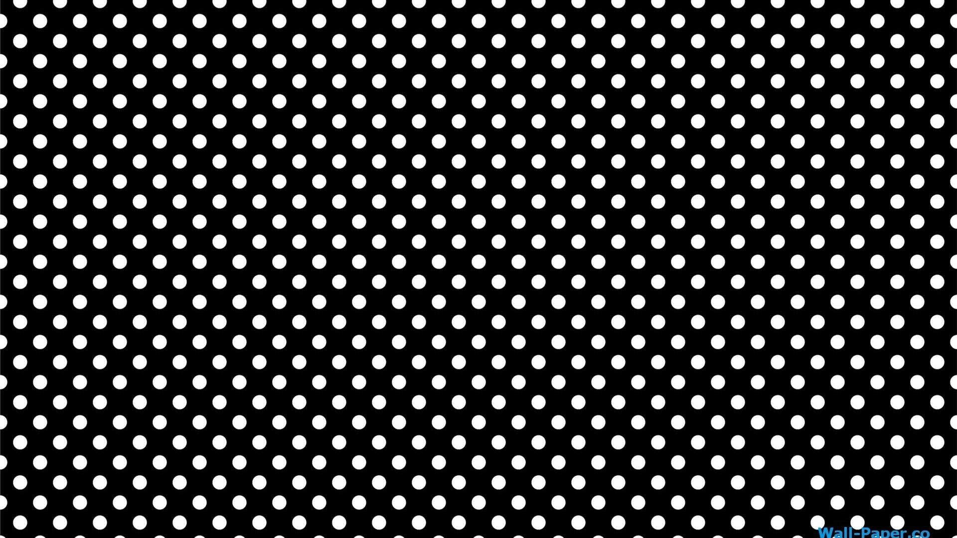 Black and White Dot Wallpaper