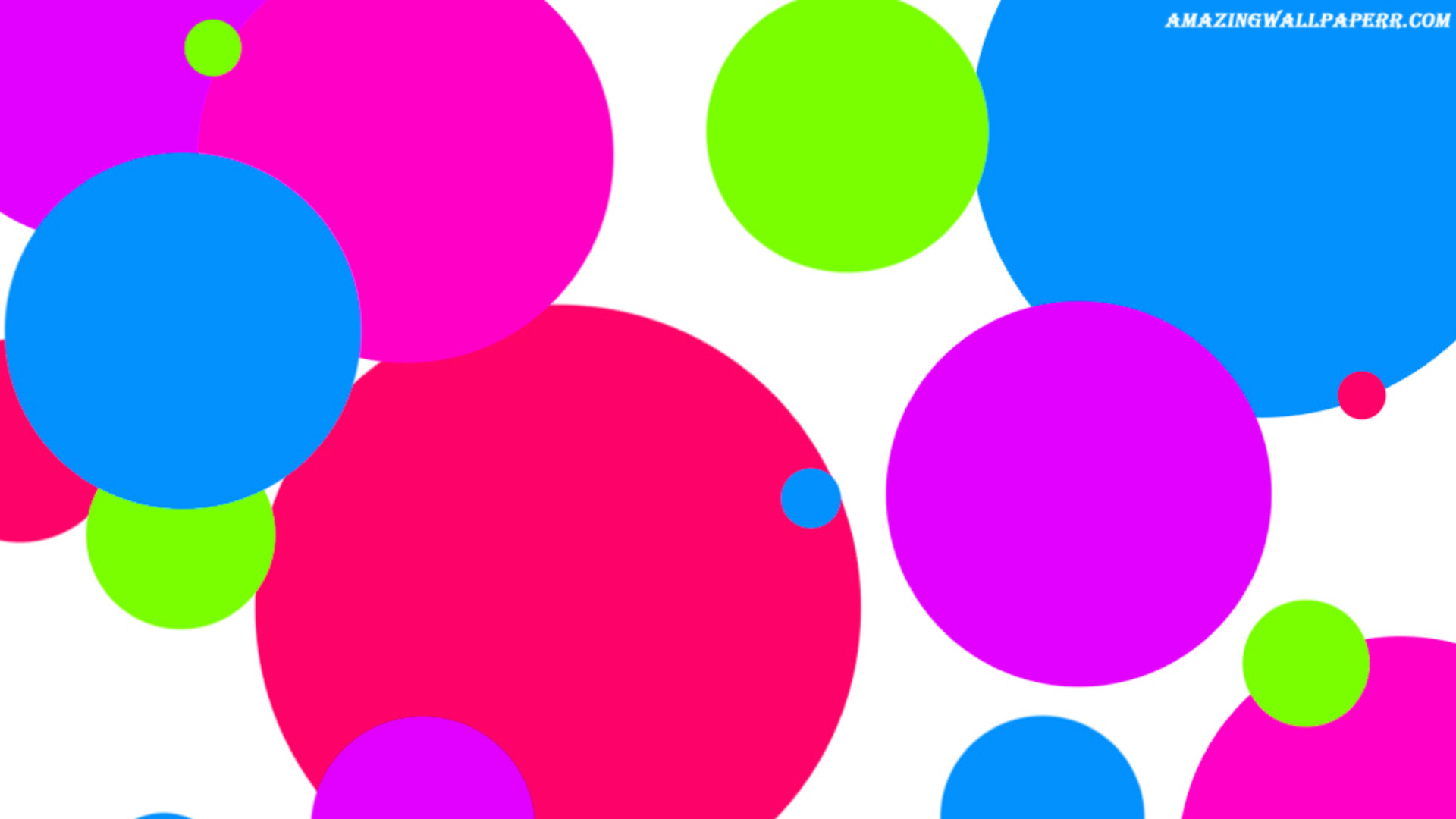 … Different Size Polka Dot Wallpaper by sheikhsherry44