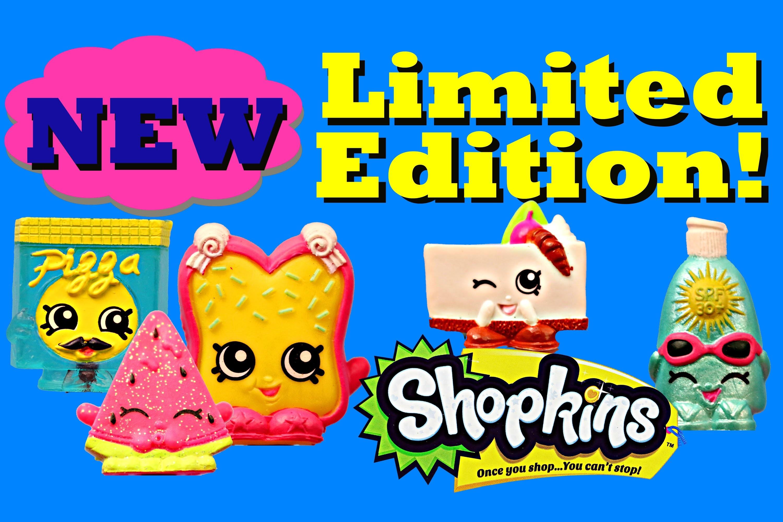 Shopkins NEW Limited Edition Rare Shopkin and Frozen Shopkins w/ Vending  Machine DisneyCarToys – YouTube