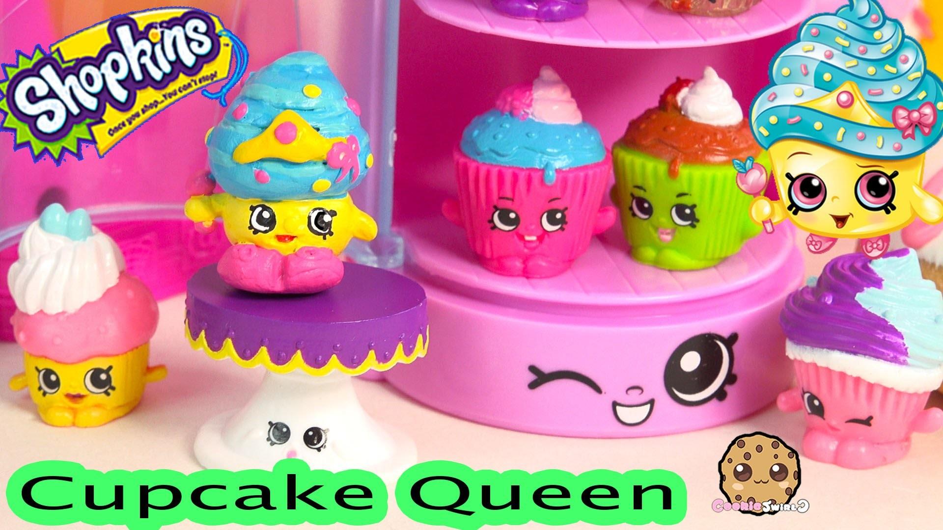 DIY Craft Limited Edition Shopkins Season 1 CUPCAKE QUEEN Custom Paint  Cookieswirlc Video – YouTube