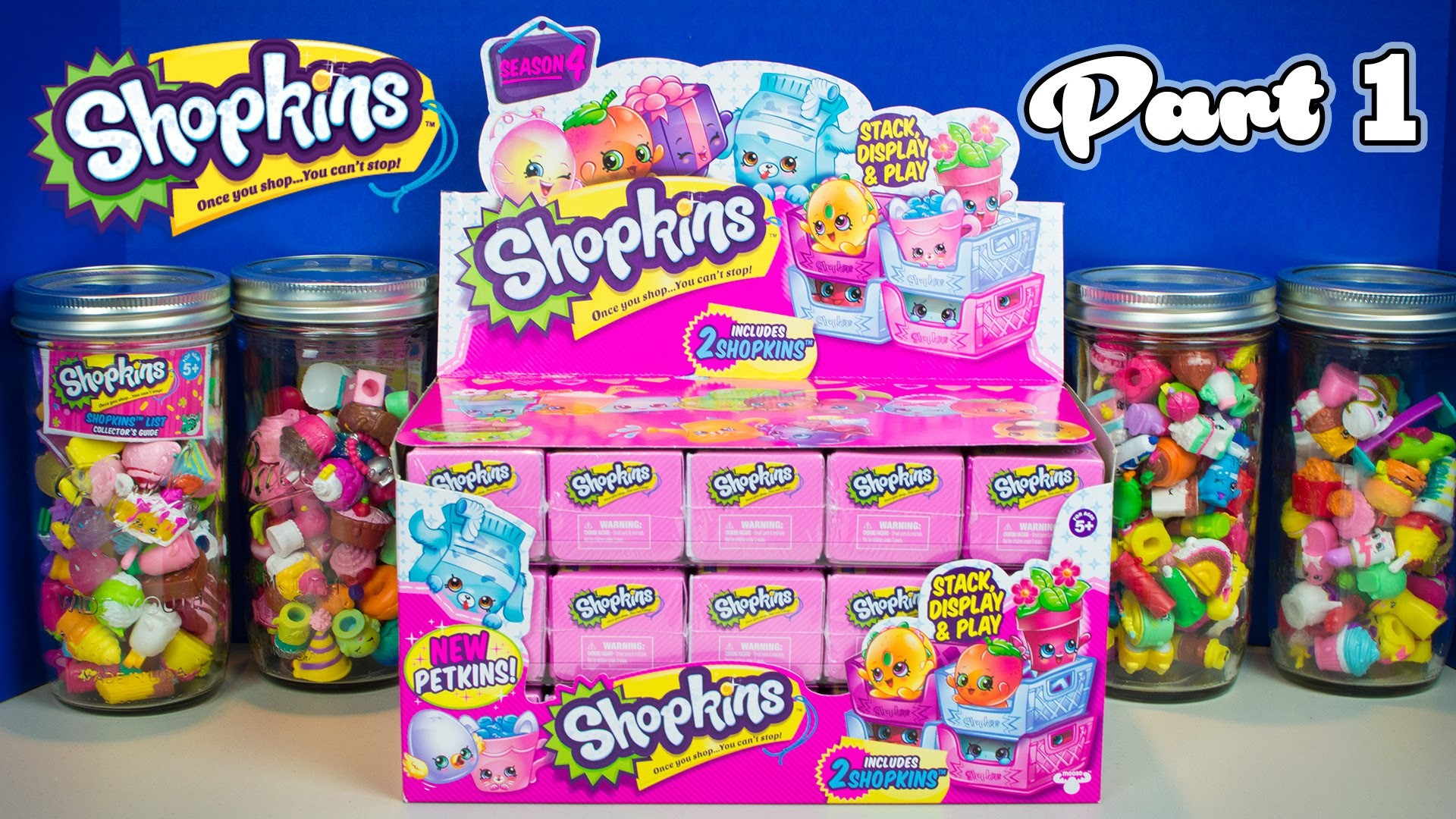 SHOPKINS SEASON 4 PETKINS Blind Baskets Part 1   Hunt for a Limited Edition  Shopkin! – YouTube