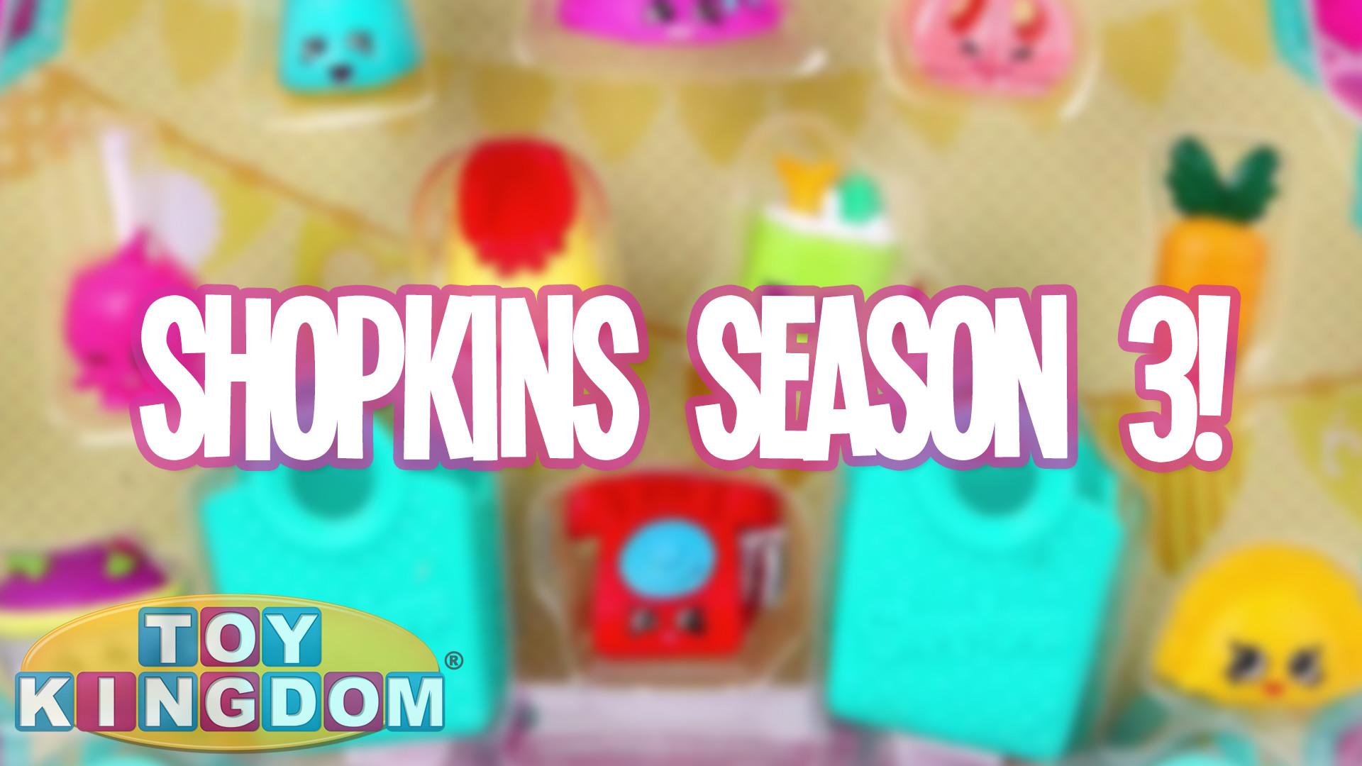 Shopkins Season 3 News and Release Date Info