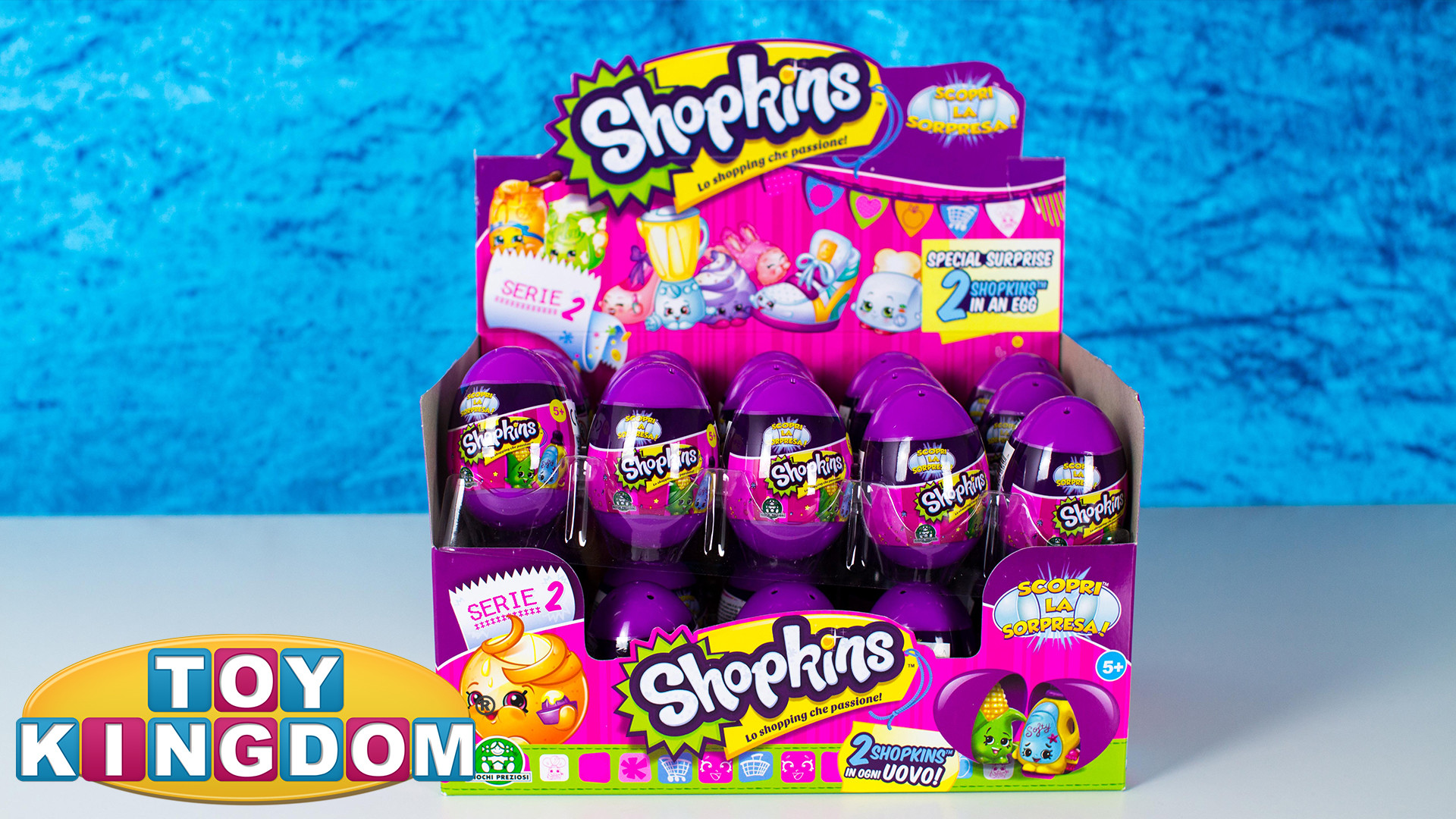 Shopkins Season 2 Surprise Eggs!!!