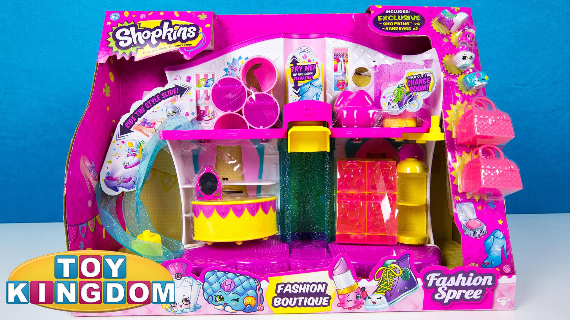 Shopkins Fashion Boutique Playset Review