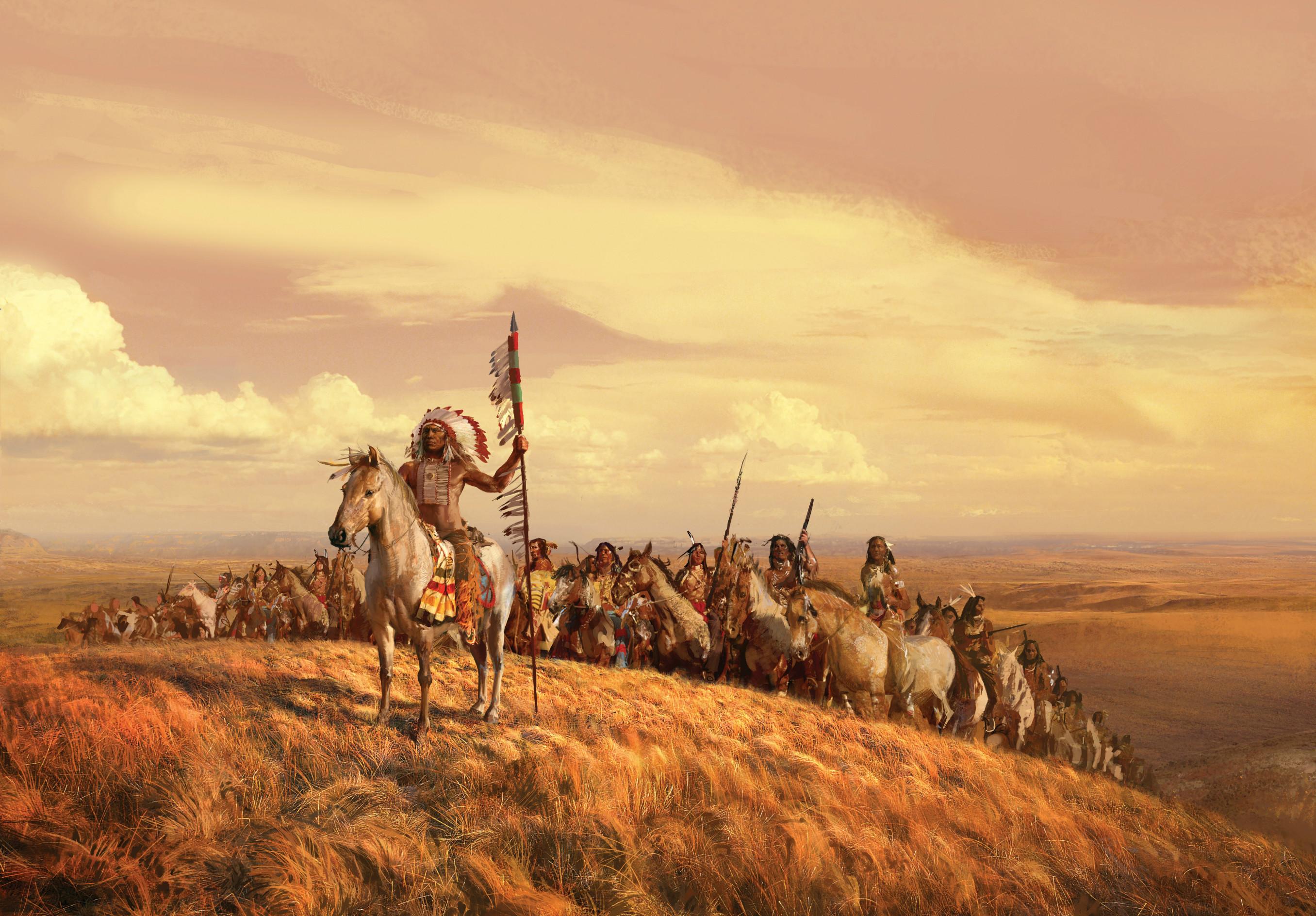 HD Wallpaper | Background ID:152789. Artistic Native American