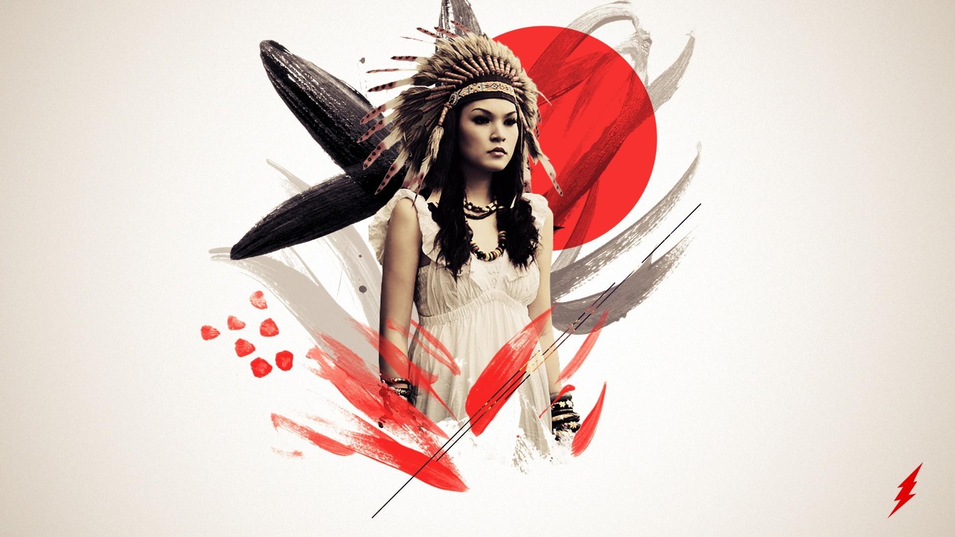 artistic native american Wallpaper Backgrounds
