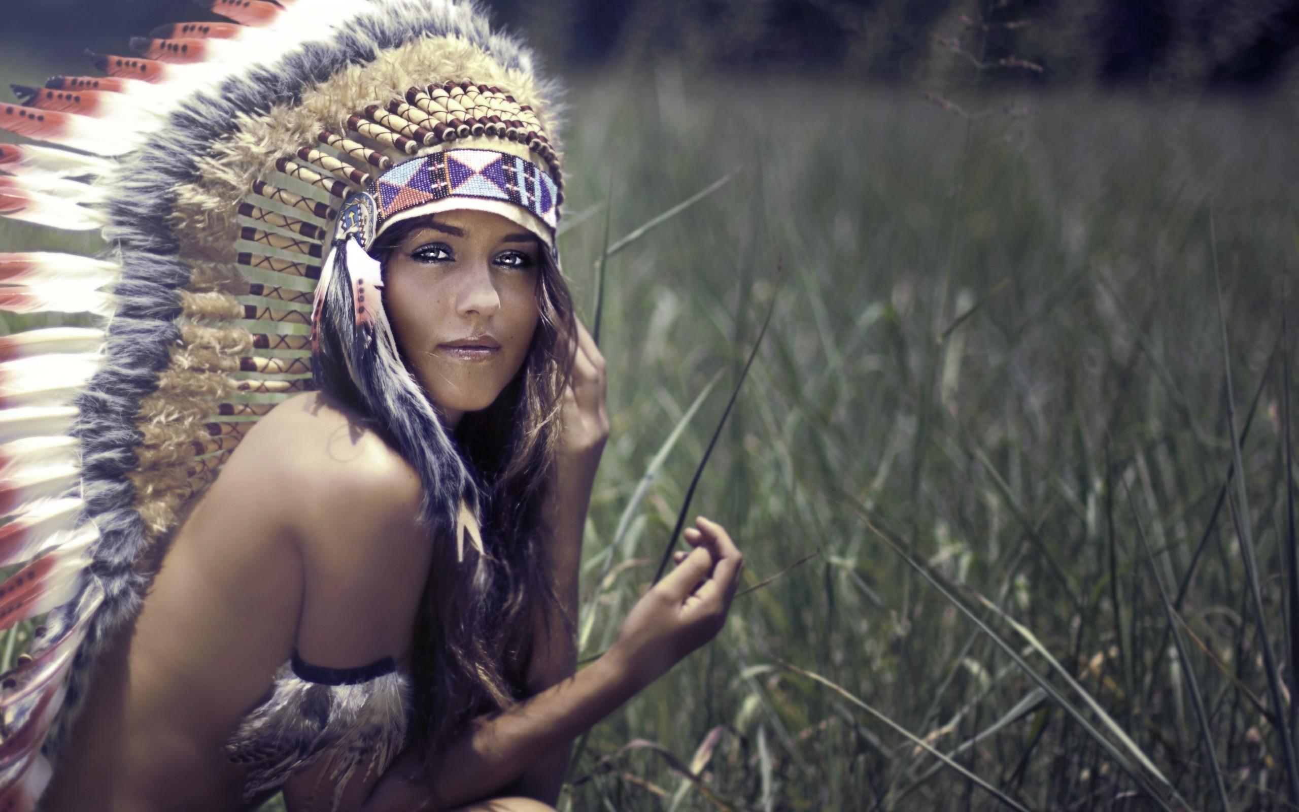 … wallpaper wiki; native americans brunette headdress women strategic  covering …