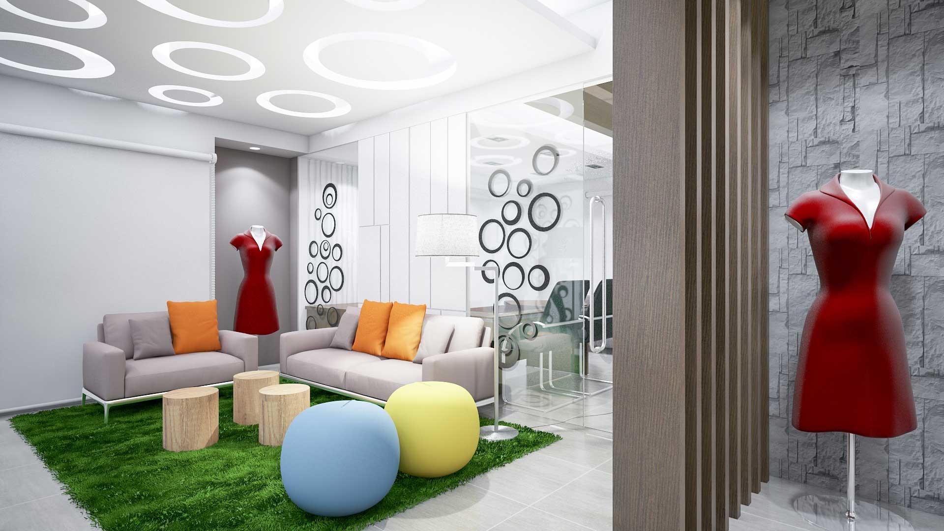 Zero Inch Interiors Ltdinterior Design Company In Bangladesh Office Work  Lounge. small office designs.