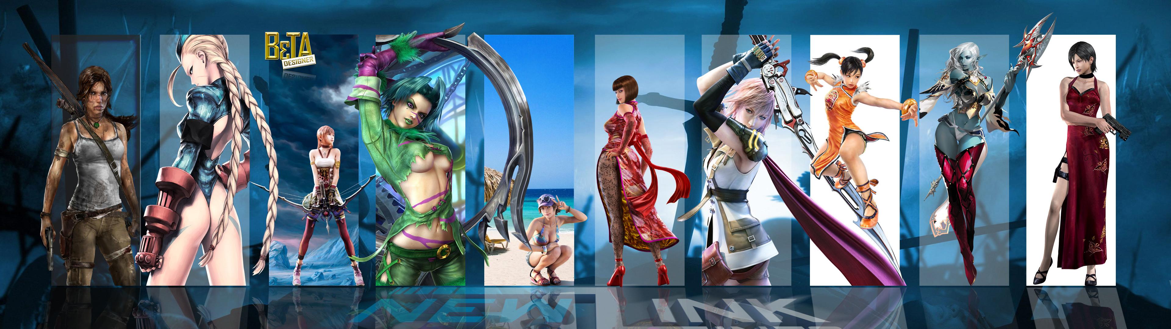 New Link Games: Top Musas dos Games – Wallpaper 01