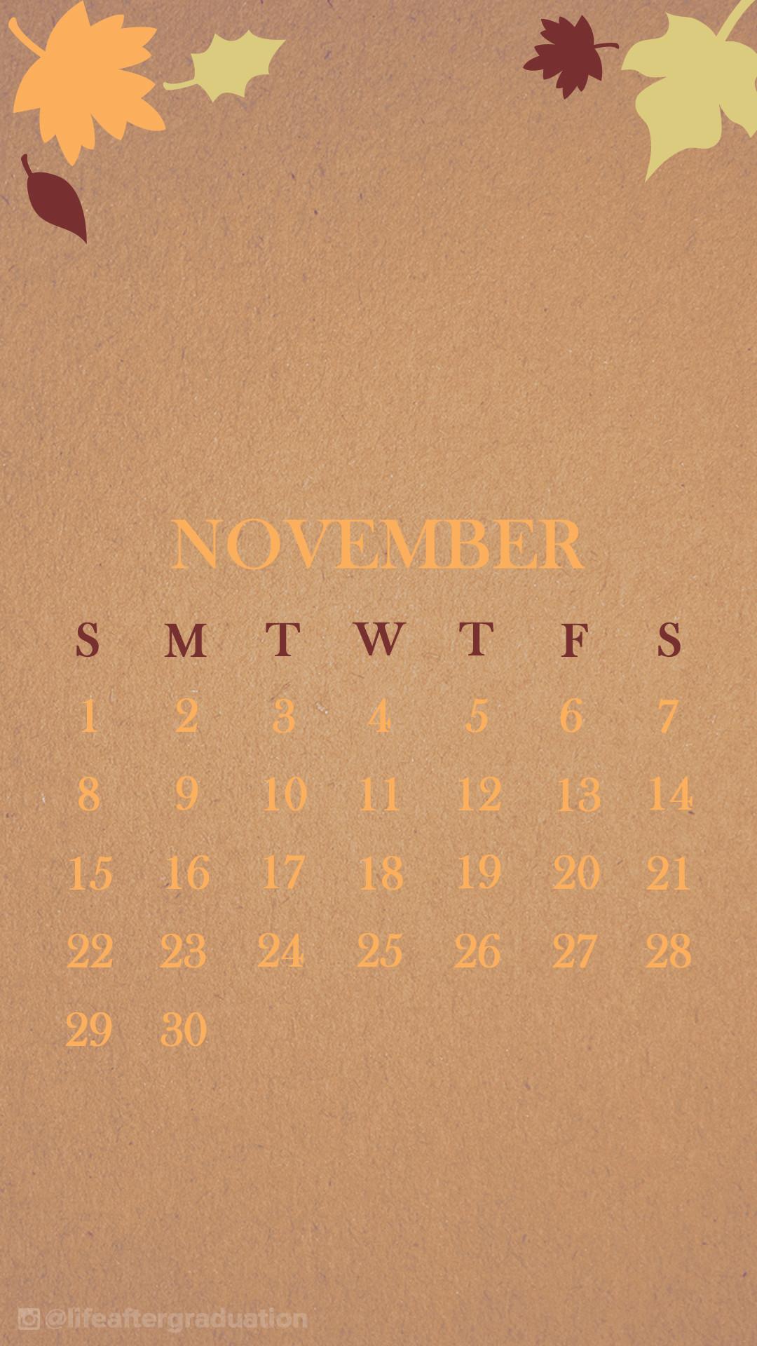 november wallpaper. via pinterest · Nov_WallpaperCalendar_2_M