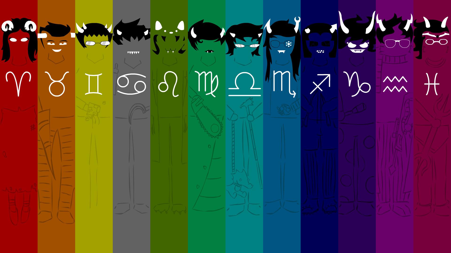 Homestuck Trolls Wallpaper by adrius15 Homestuck Trolls Wallpaper by  adrius15