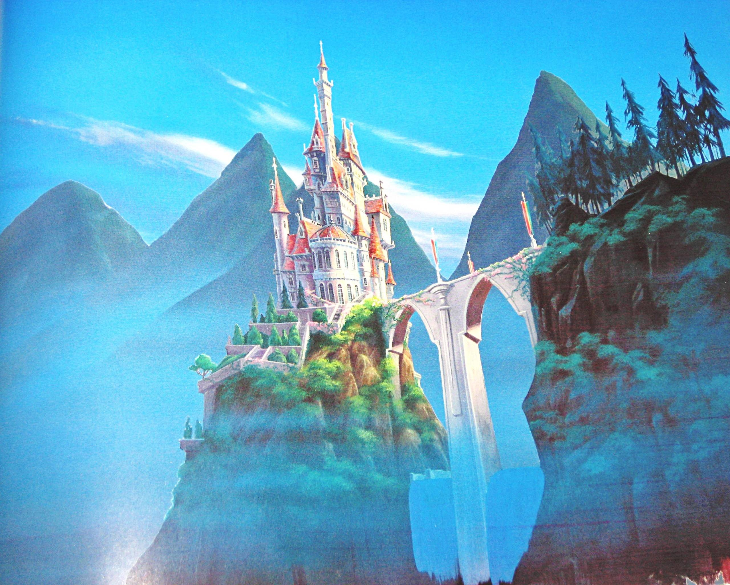 Walt Disney Backgrounds – Beauty and the Beast – Walt Disney .