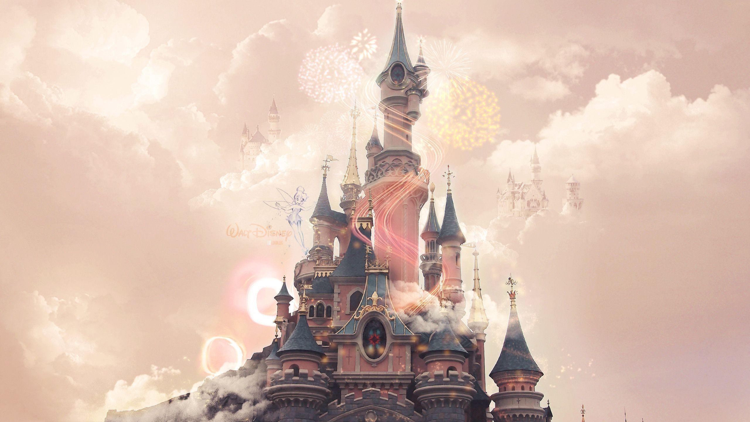 Disney castle background hd download.