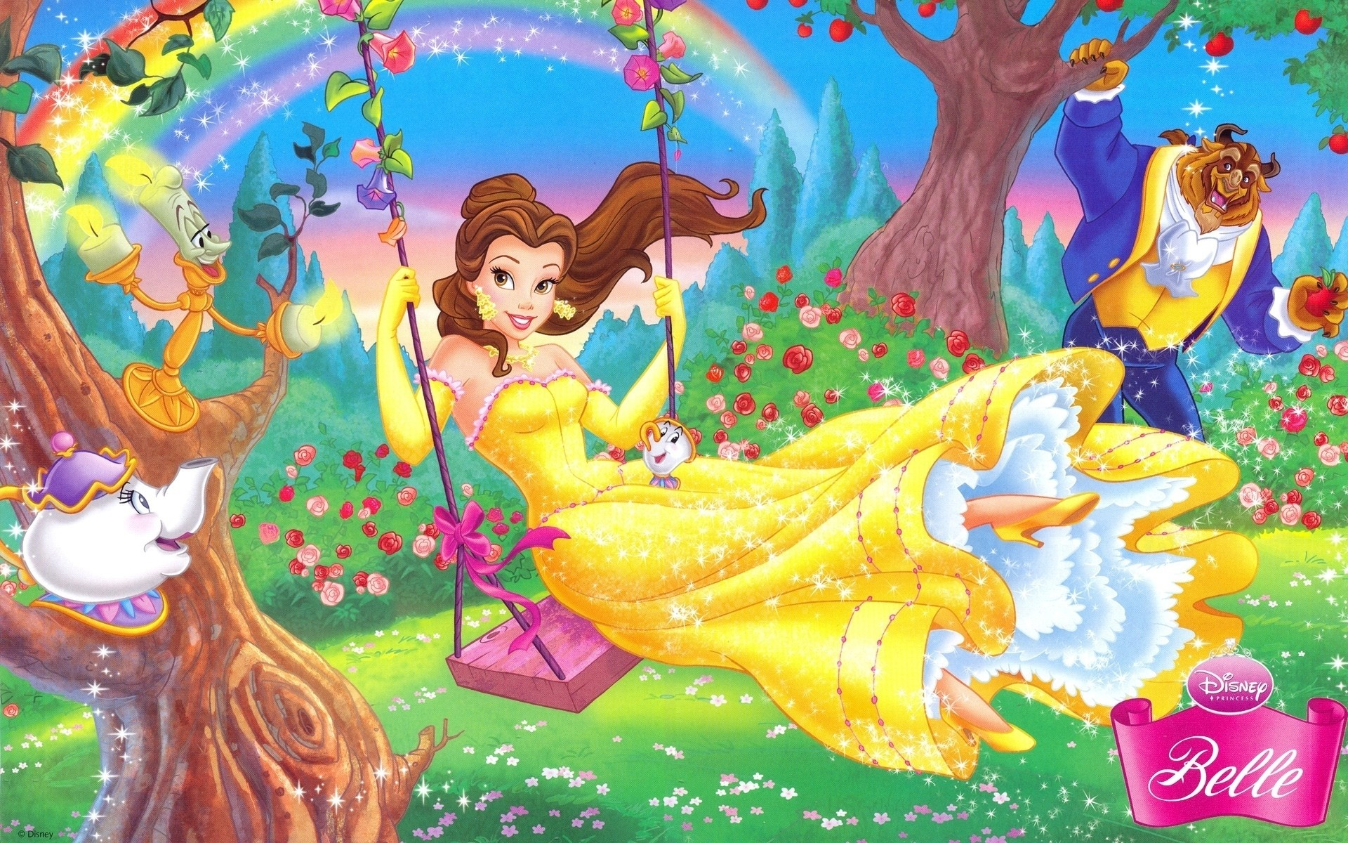 Disney Princess HD Backgrounds for PC