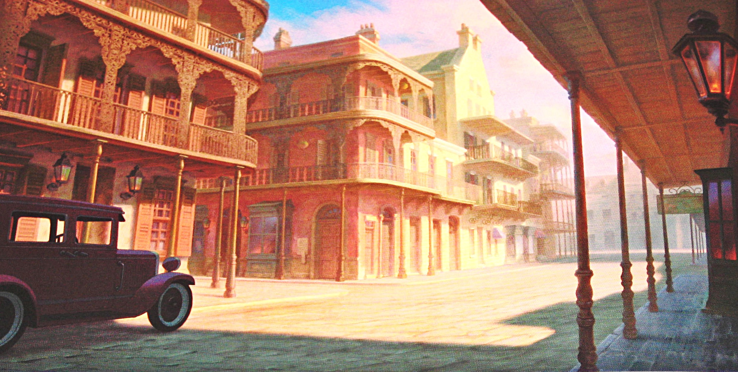 Walt-Disney-Backgrounds-The-Princess-and-the-Frog-walt-disney-characters-28107907-2468-1244.jpg  (2468×1244) | REFS – Background | Pinterest | Frog wallpaper …