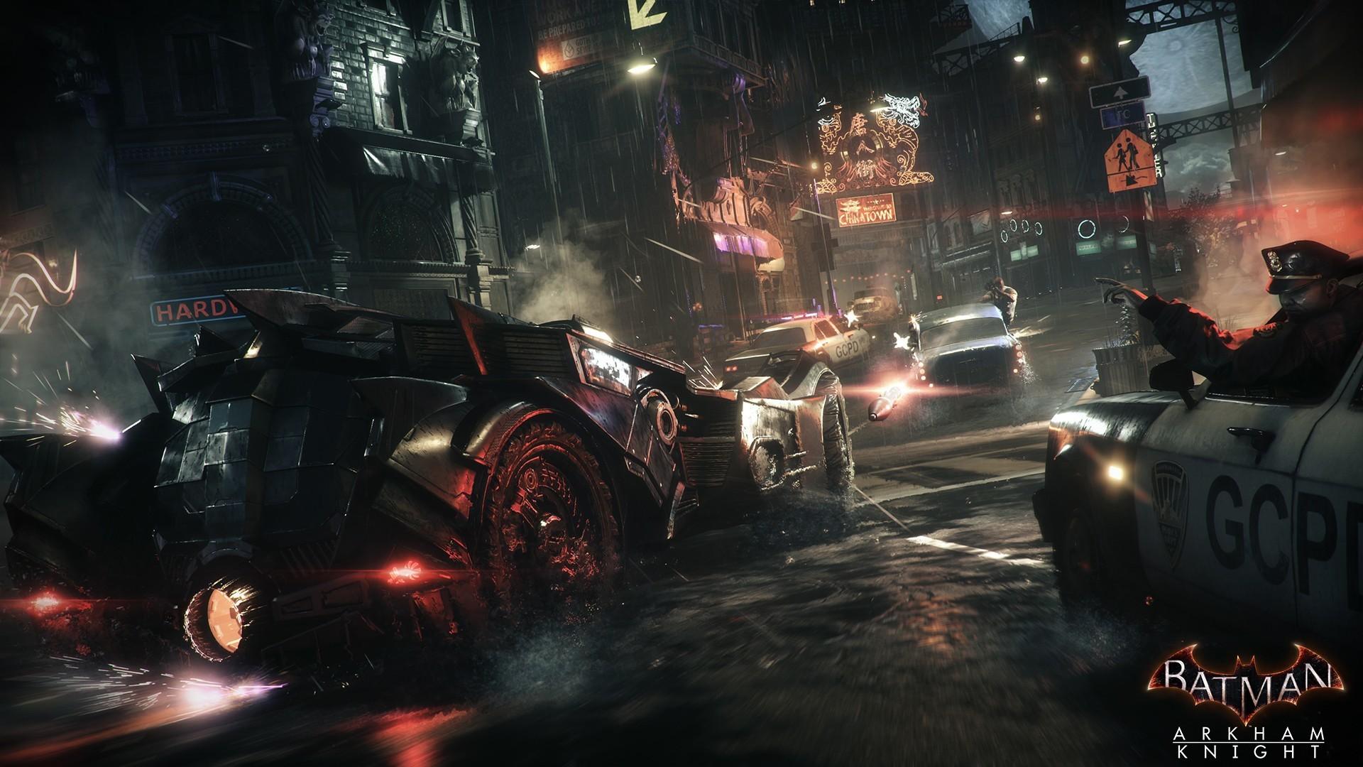 Batman Arkham Knight Police vs Villans Desktop Wallpaper Uploaded by The  Master Assassin