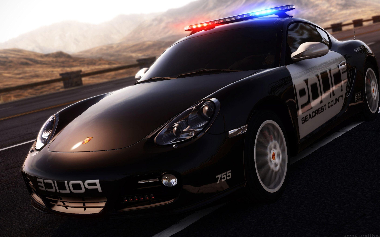3D Police Car Desktop Backgrounds Wallpaper
