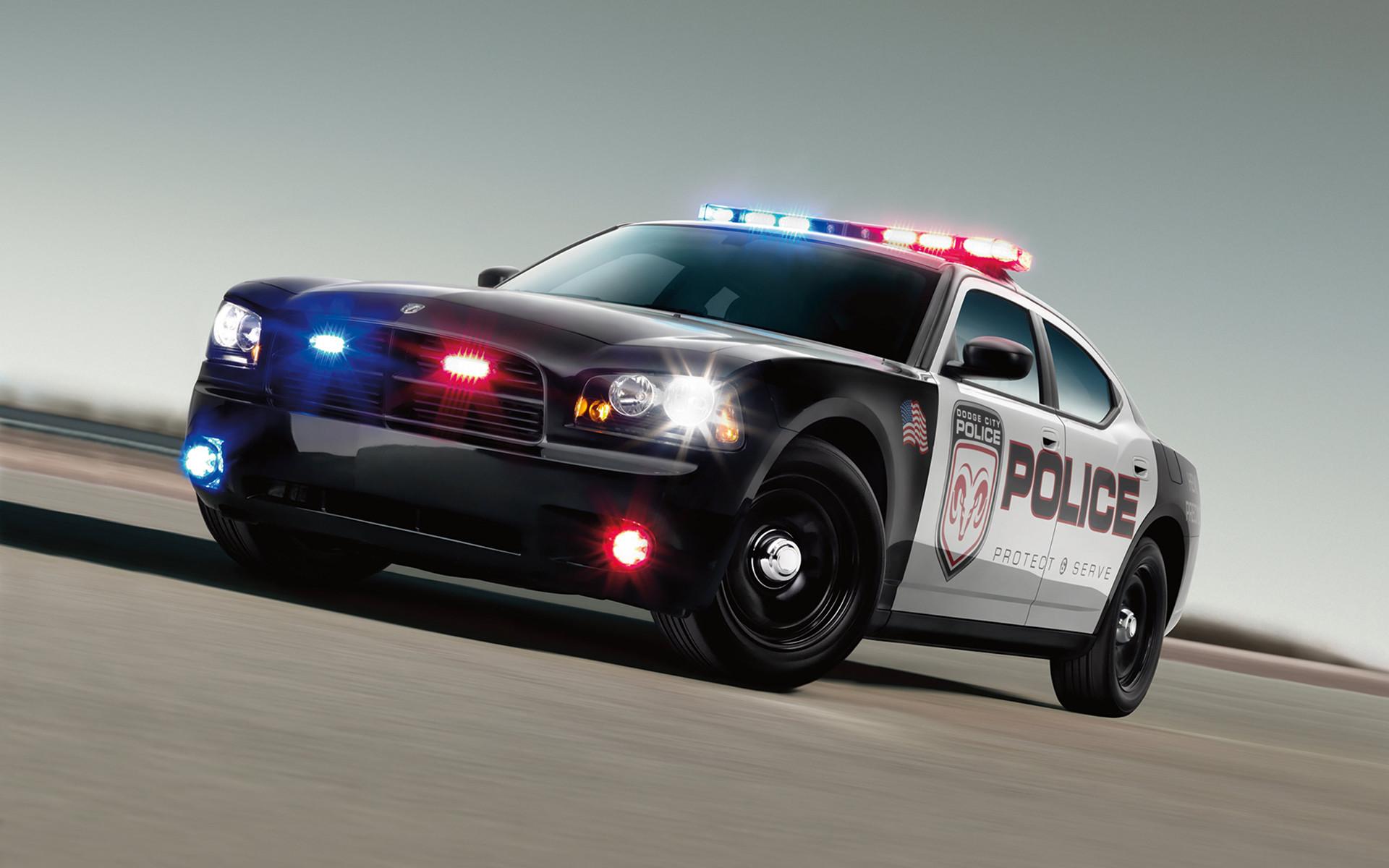 3D Render Dodge Police Car Desktop Wallpaper Uploaded by DesktopWalls