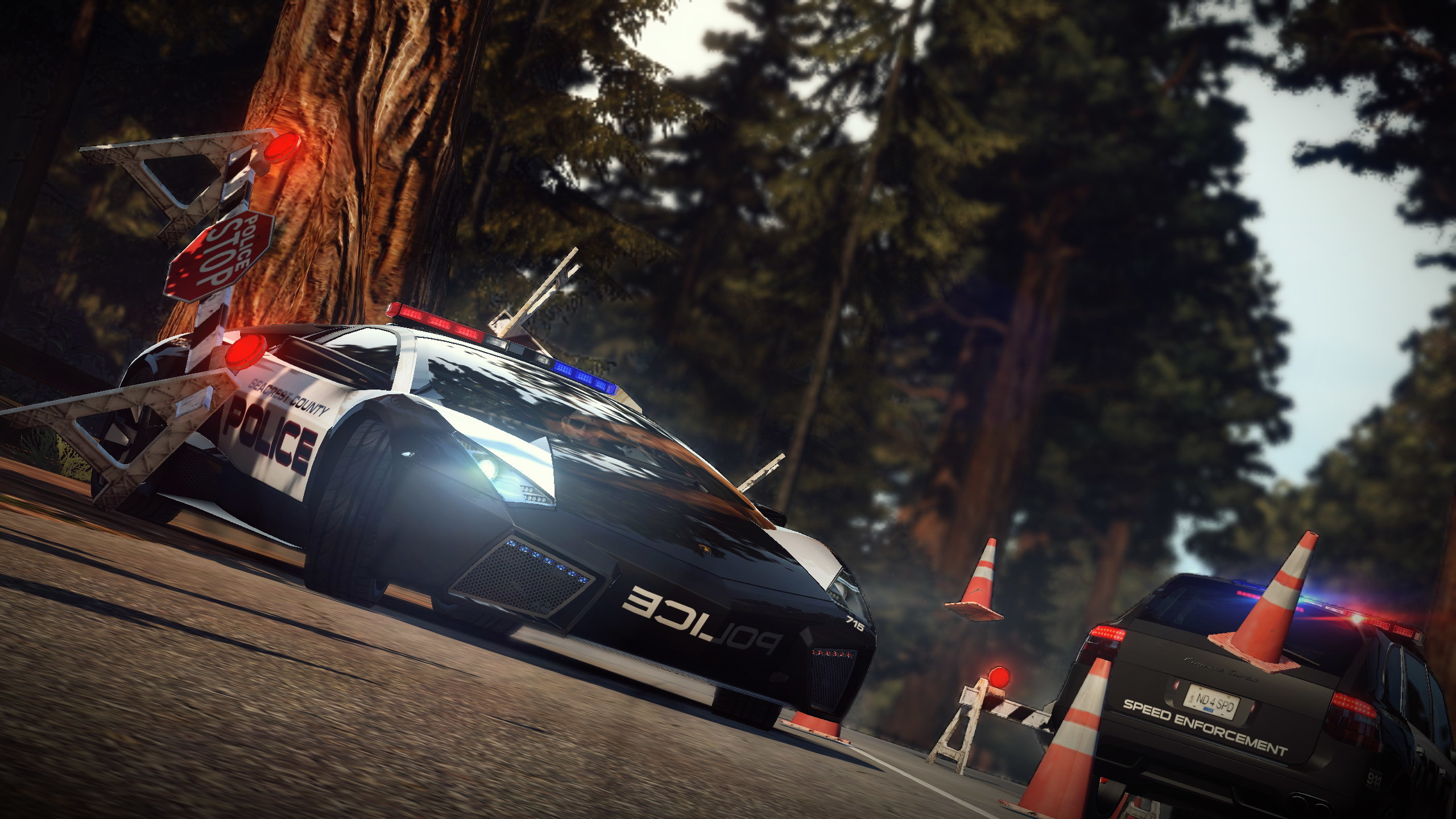 Need For Speed Hot Pursuit Police Car… Desktop Wallpaper