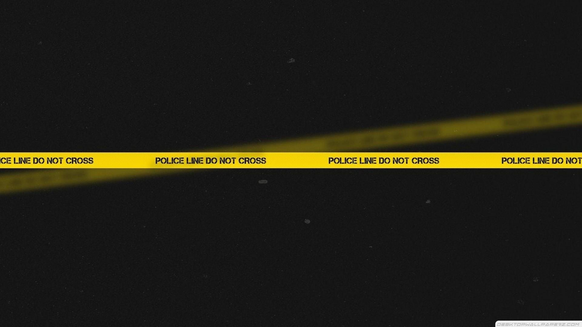 Police Line Do Not Cross Wallpaper 715793