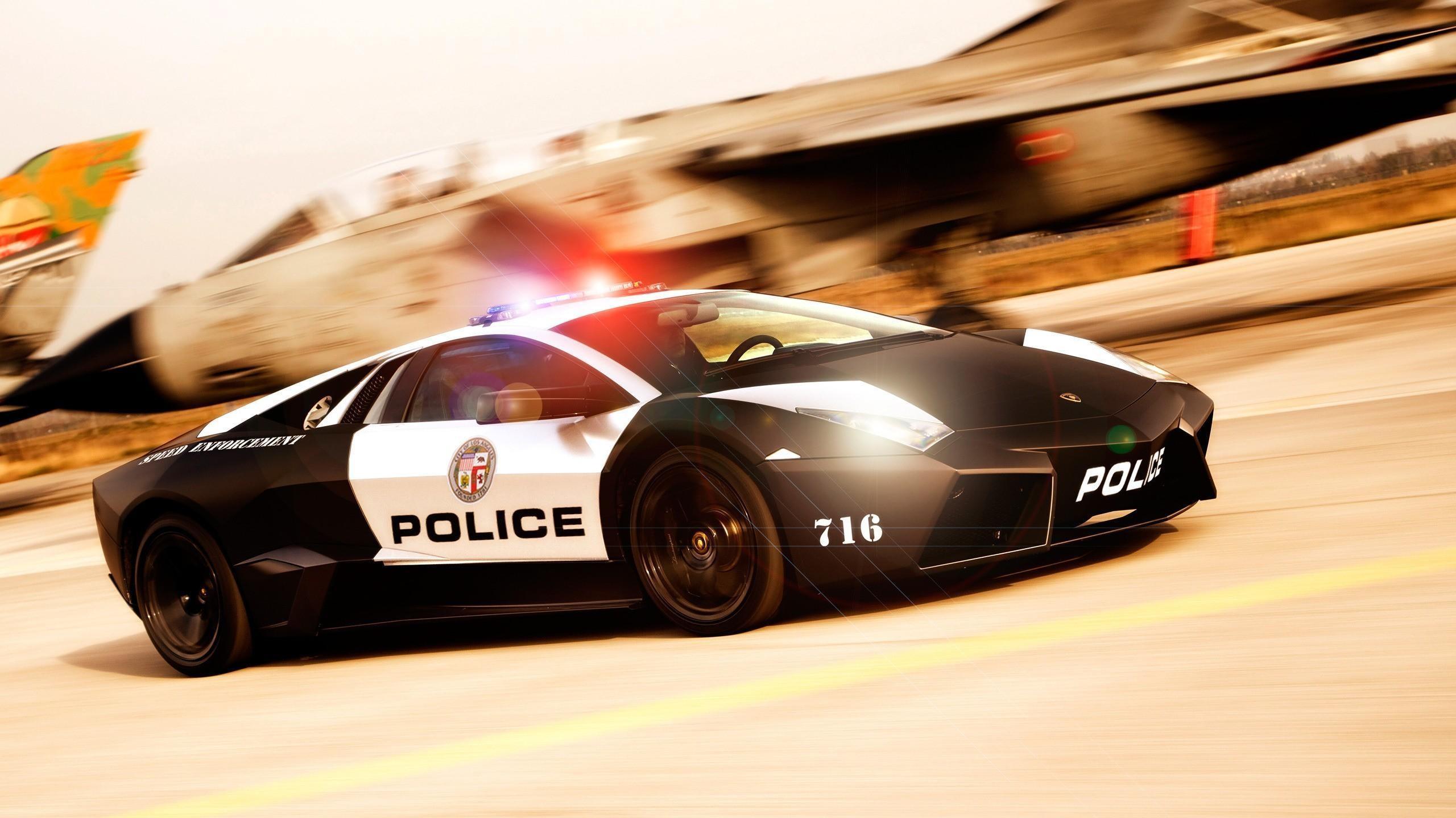 Cool Cop Car