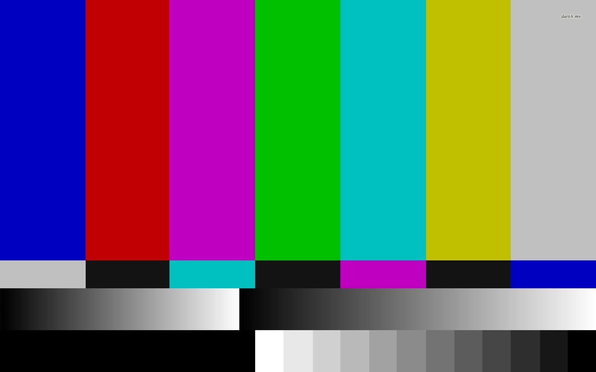 TV test pattern wallpaper – Abstract wallpapers – #15934