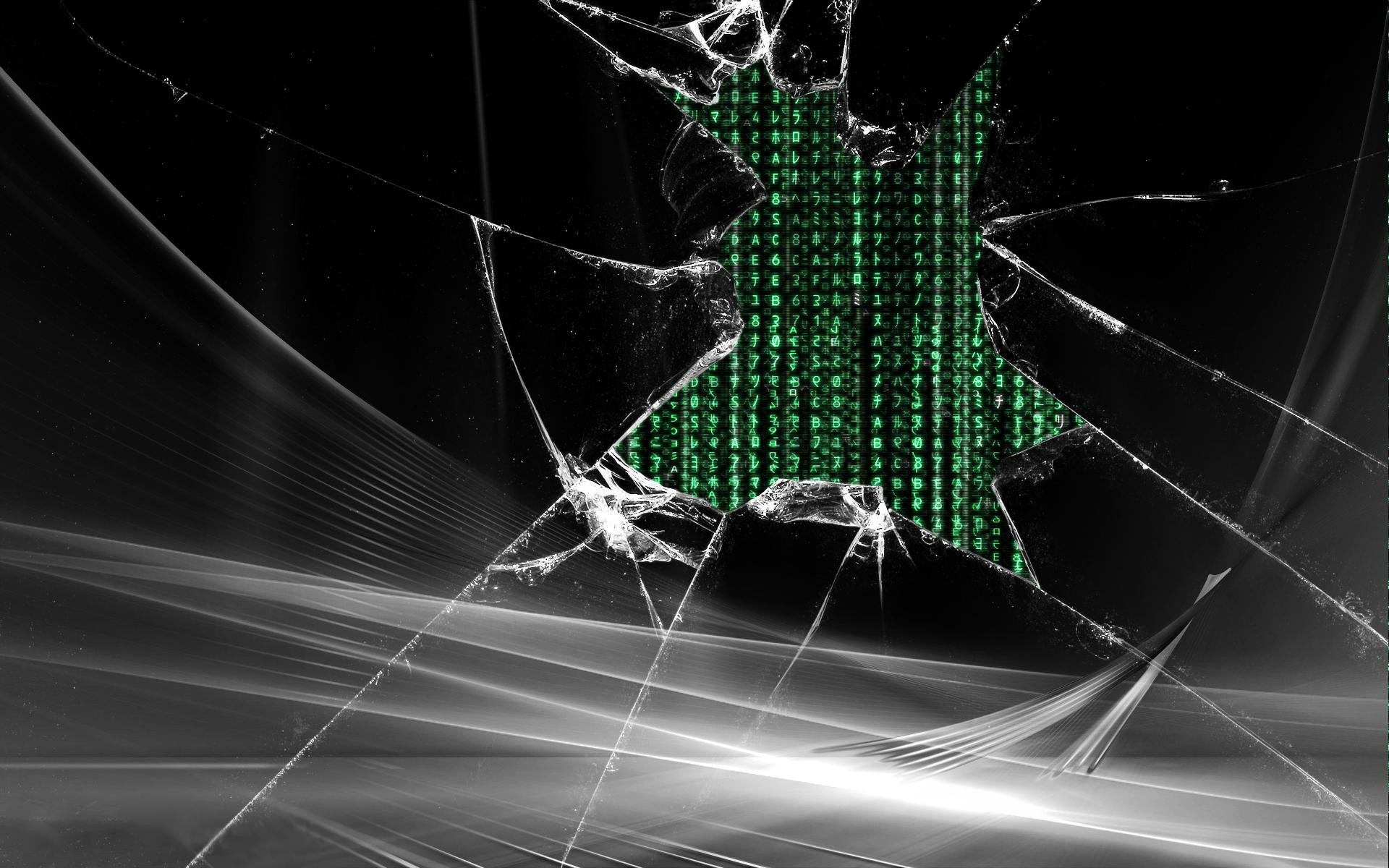 Broken Ipad Screen Wallpaper